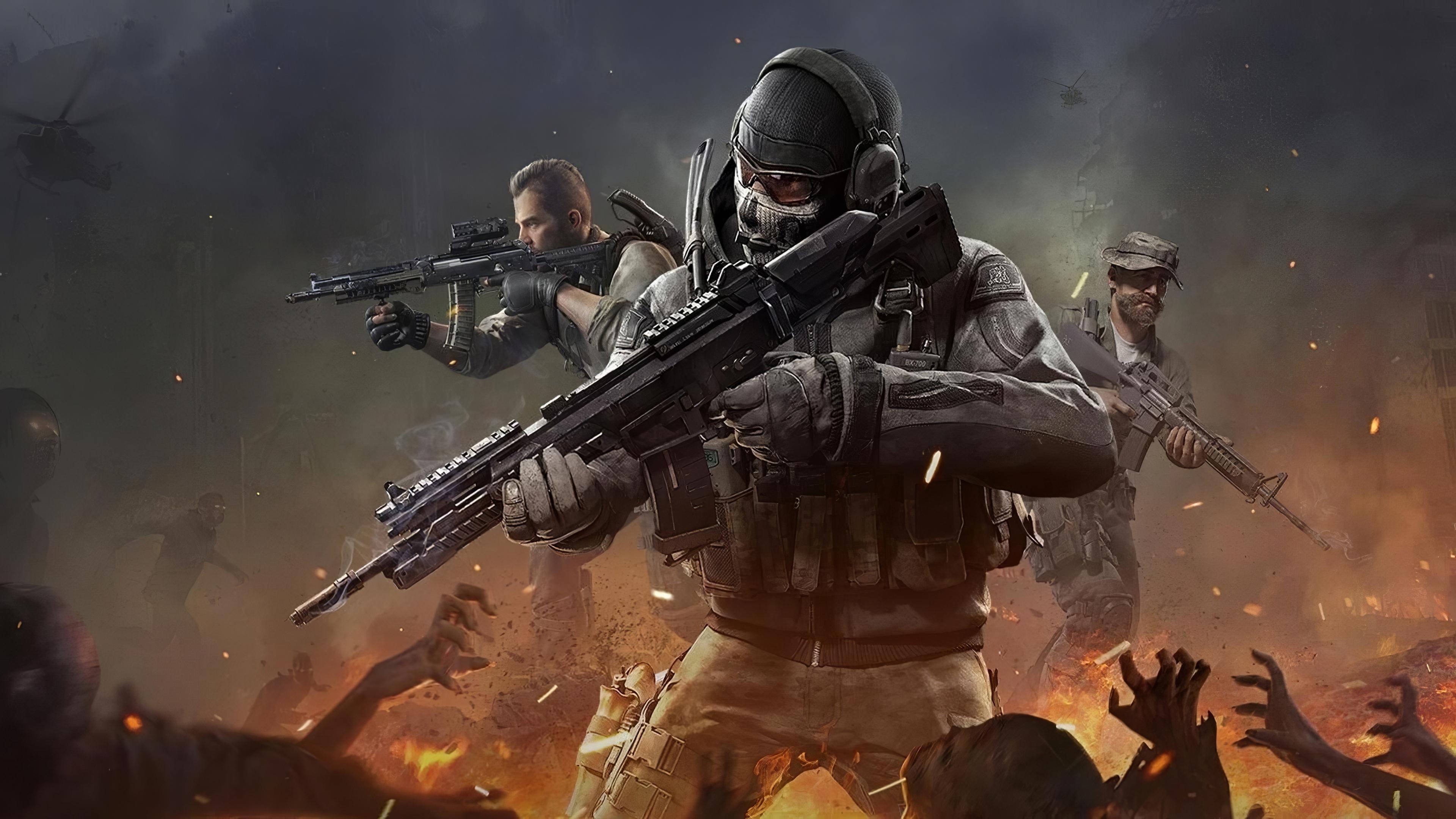 3840x2160 Call Of Duty Mobile 4k Game 2019 4k HD 4k ...