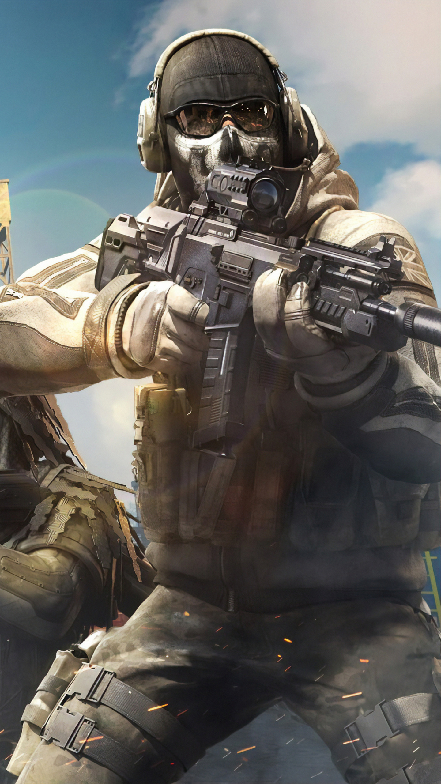 1440x2560 Call Of Duty Mobile 4k Game Samsung Galaxy S6s7