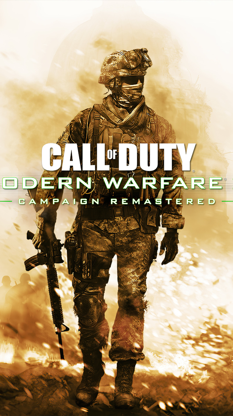 750x1334 Call Of Duty Modern Warfare 2 Campaign Remastered 4k