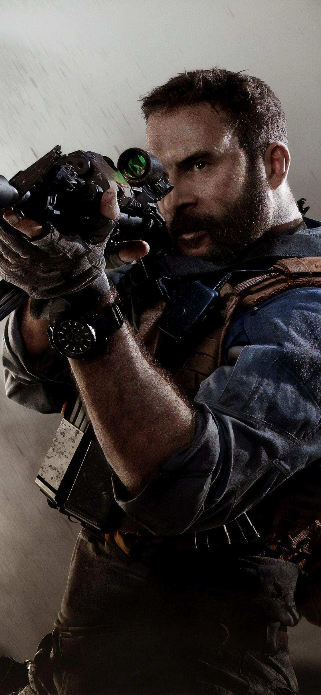 1125x2436 Call Of Duty Modern Warfare 4k Iphone Xs Iphone 10