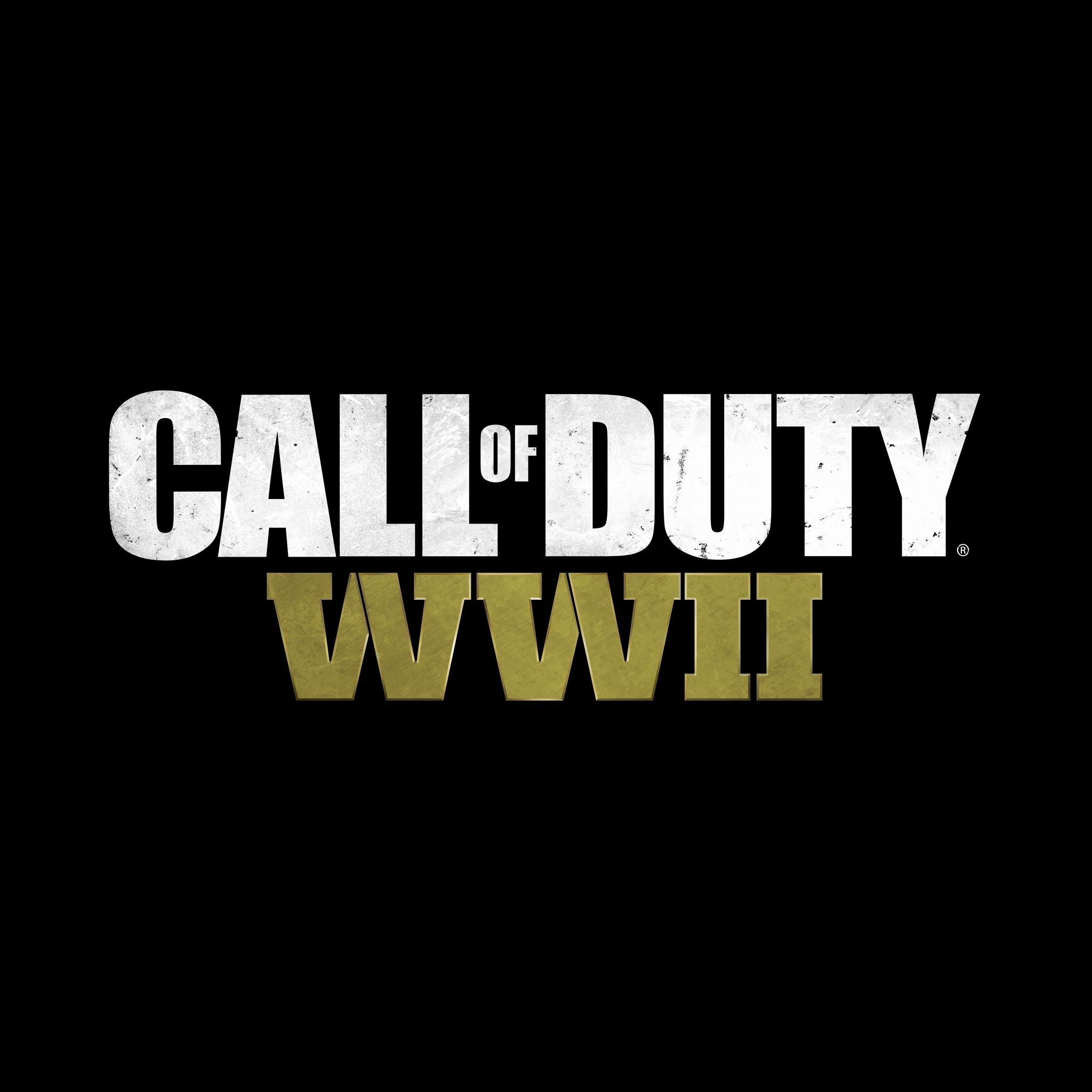 2048x2048 call of duty ww2 logo 8k ipad air hd 4k - Call of duty ww2 desktop ...