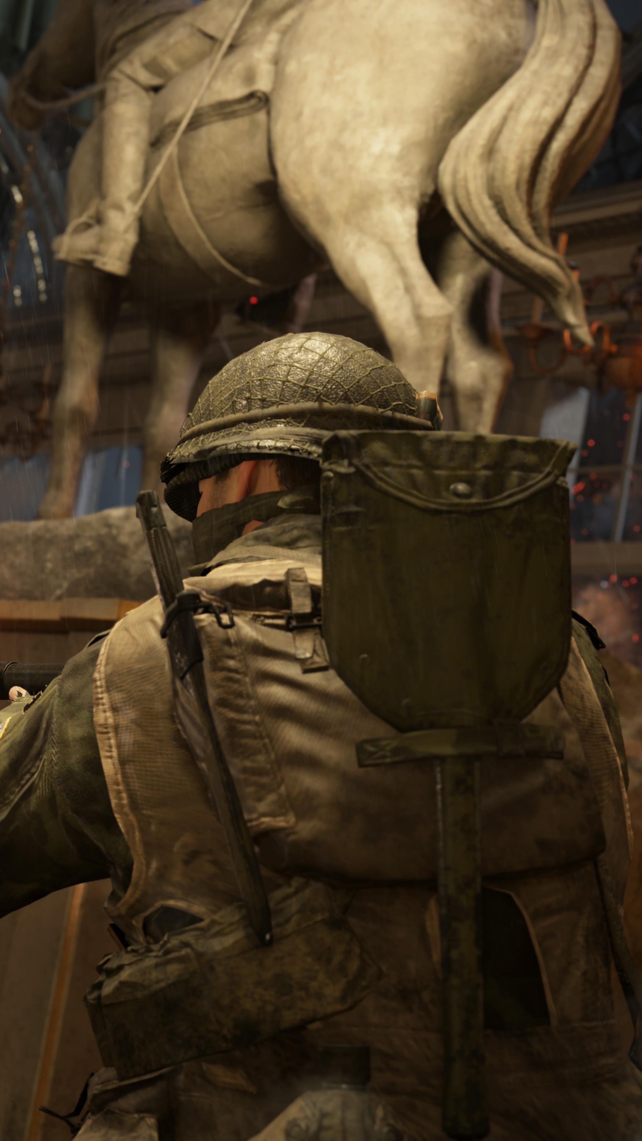 2160x3840 Call Of Duty WWII DLC3 Market Garden Game Play 4k Sony ...
