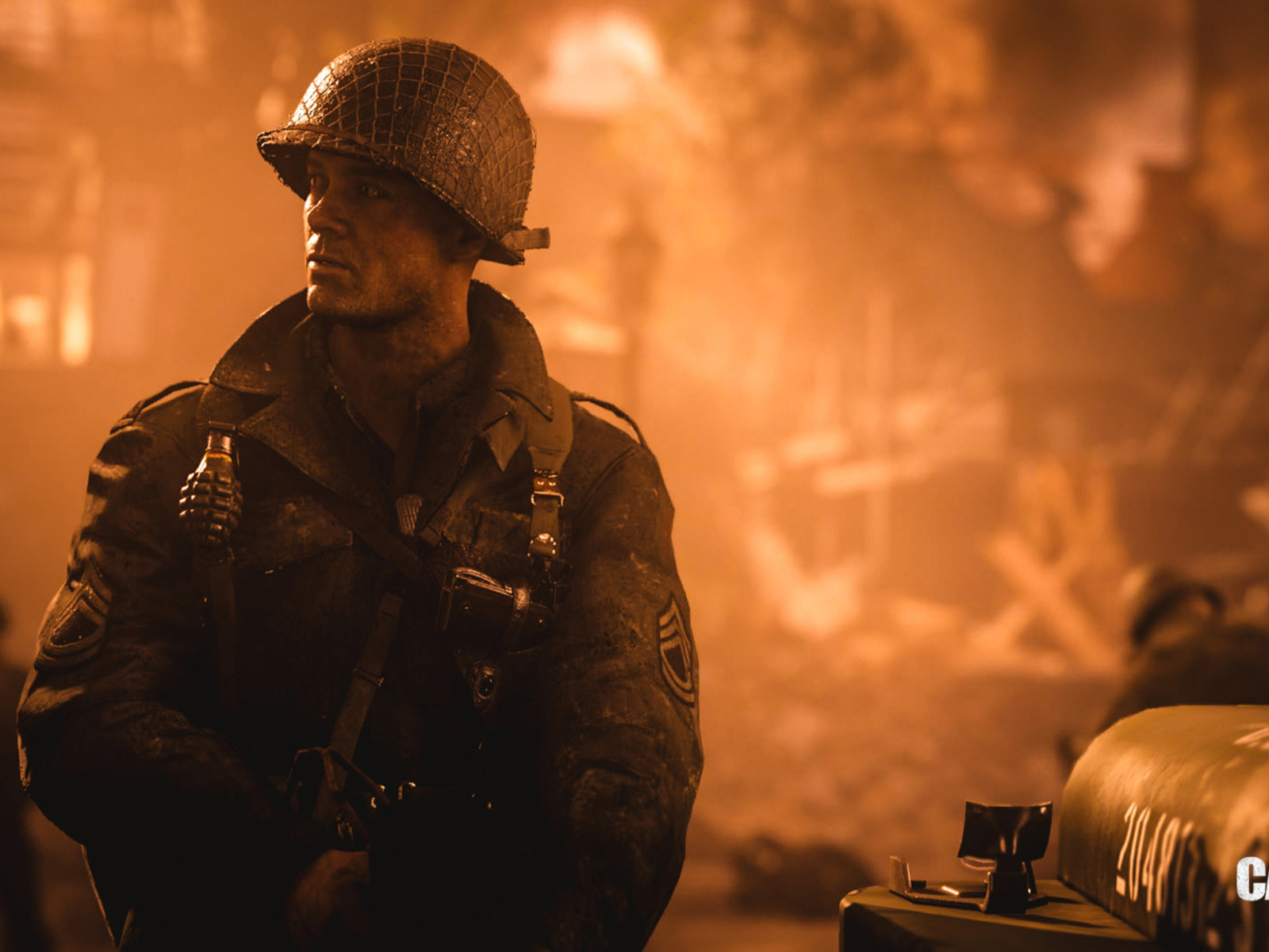1600x1200 Call Of Duty Wwii Soldier 1600x1200 Resolution Hd