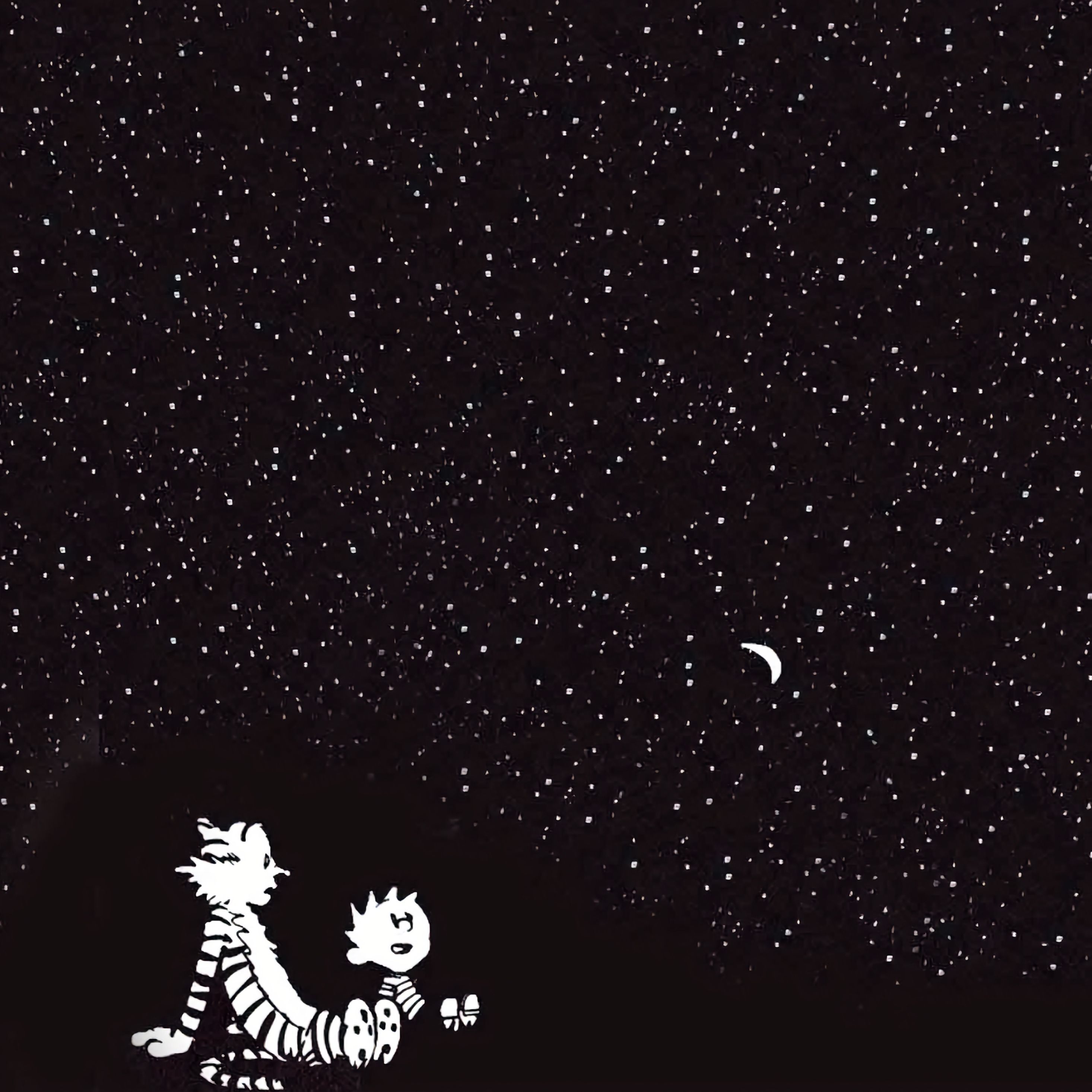 2932x2932 Calvin And Hobbes 4k Ipad Pro Retina Display Hd 4k Wallpapers Images Backgrounds Photos And Pictures