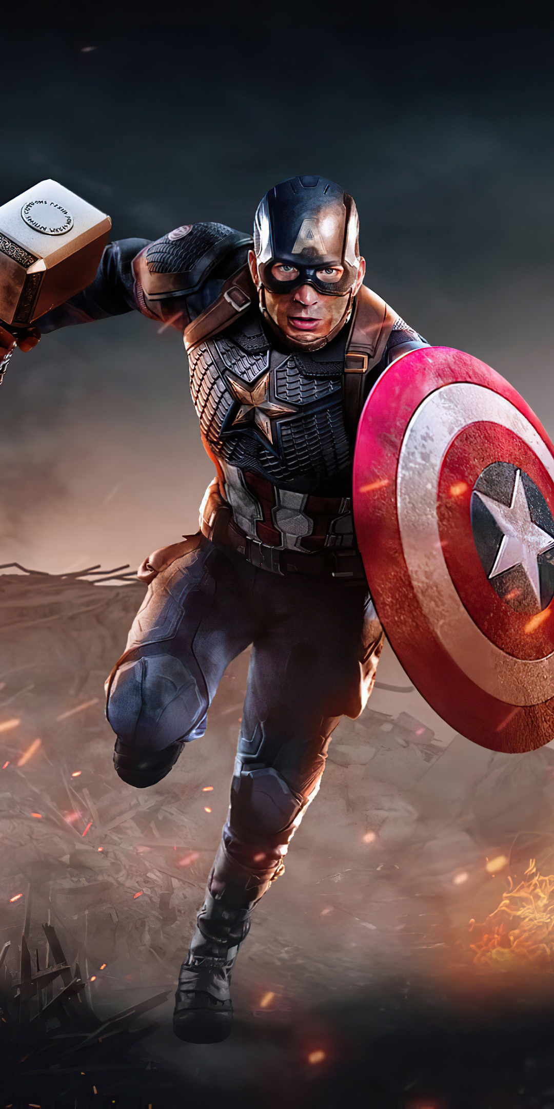 1080x2160 Captain America 2020 4k One Plus 5T,Honor 7x ...