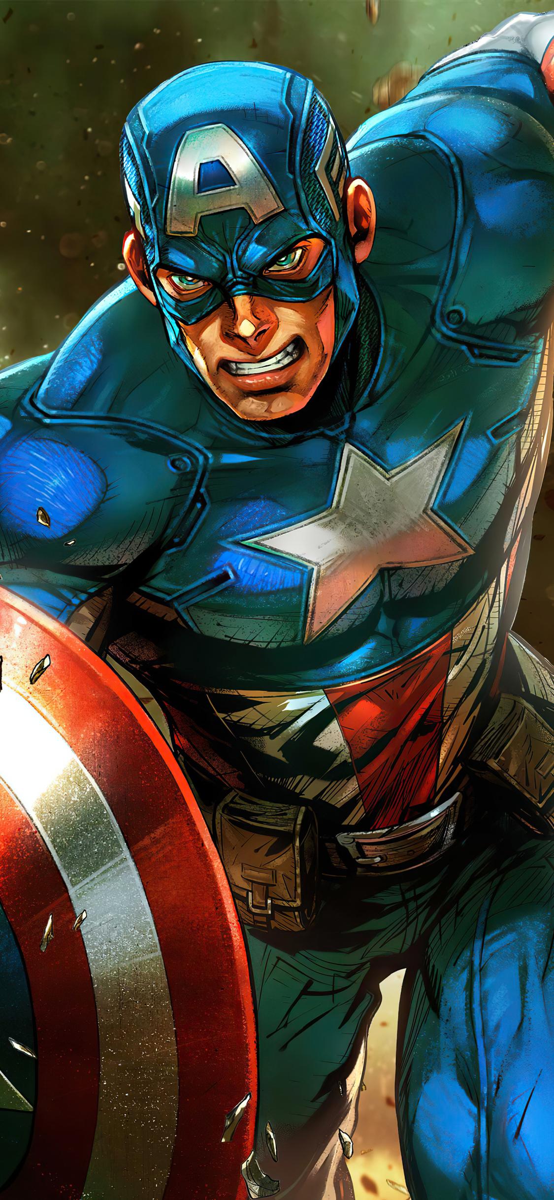 1125x2436 Captain America 2020 4k Artwork Iphone XS,Iphone ...