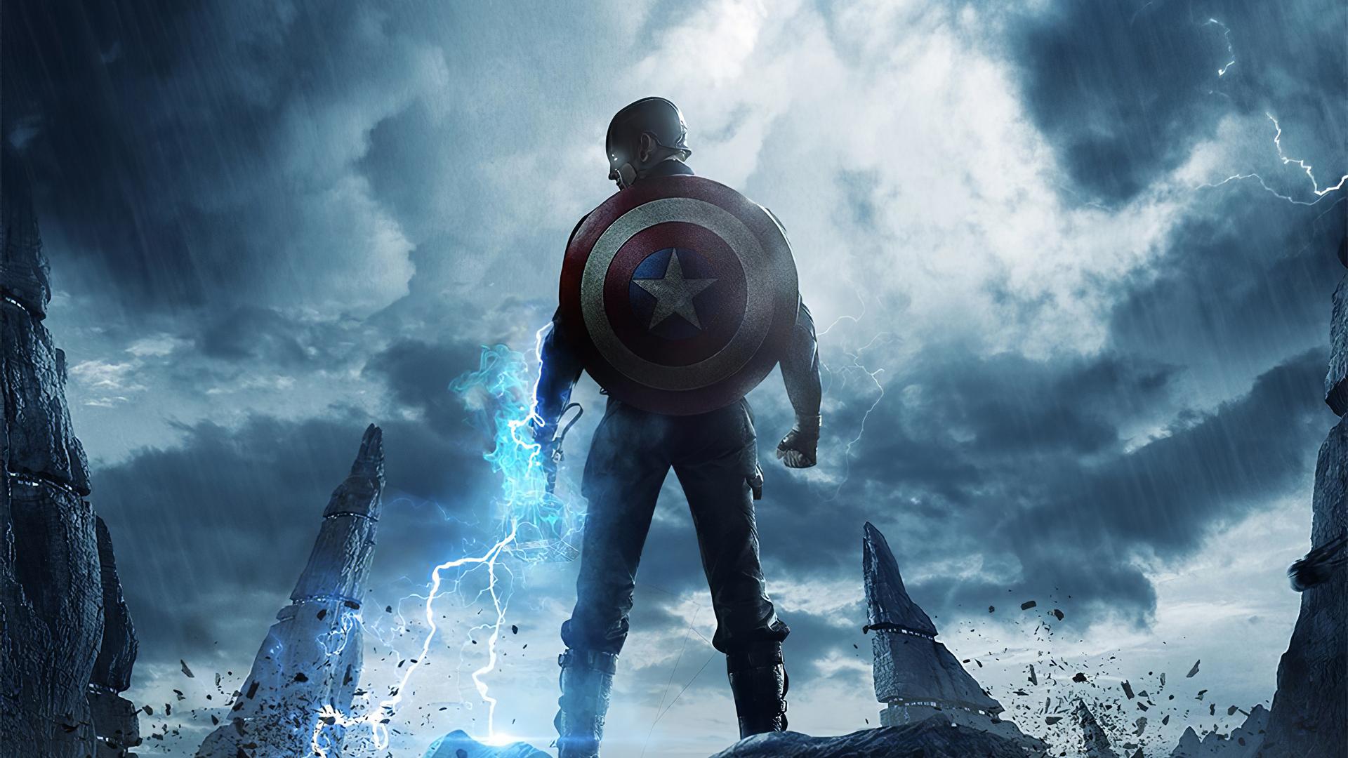 1920x1080 Captain America 4k 2020 Laptop Full HD 1080P HD ...