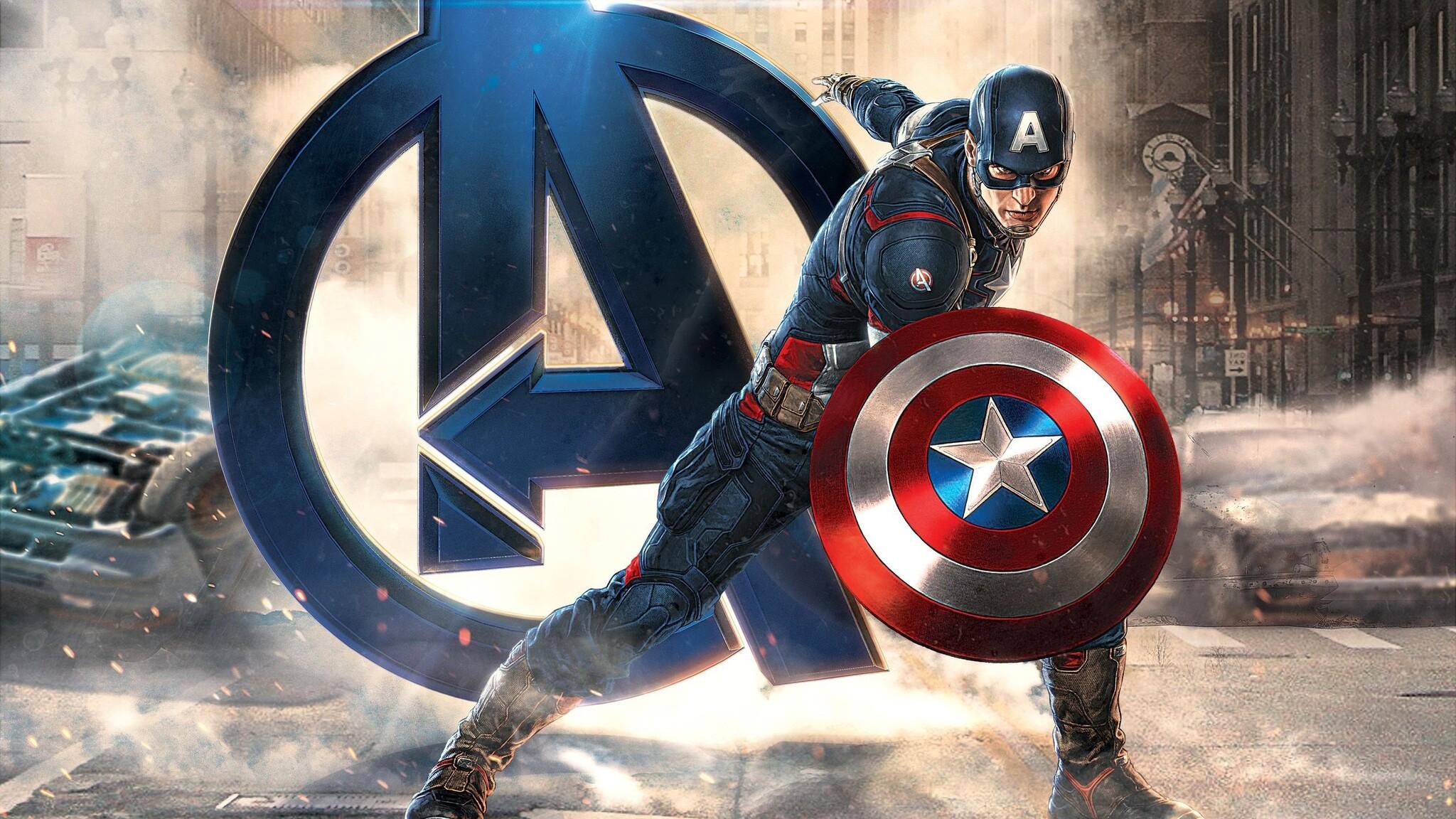 2048x1152 captain america avengers 2048x1152 resolution hd