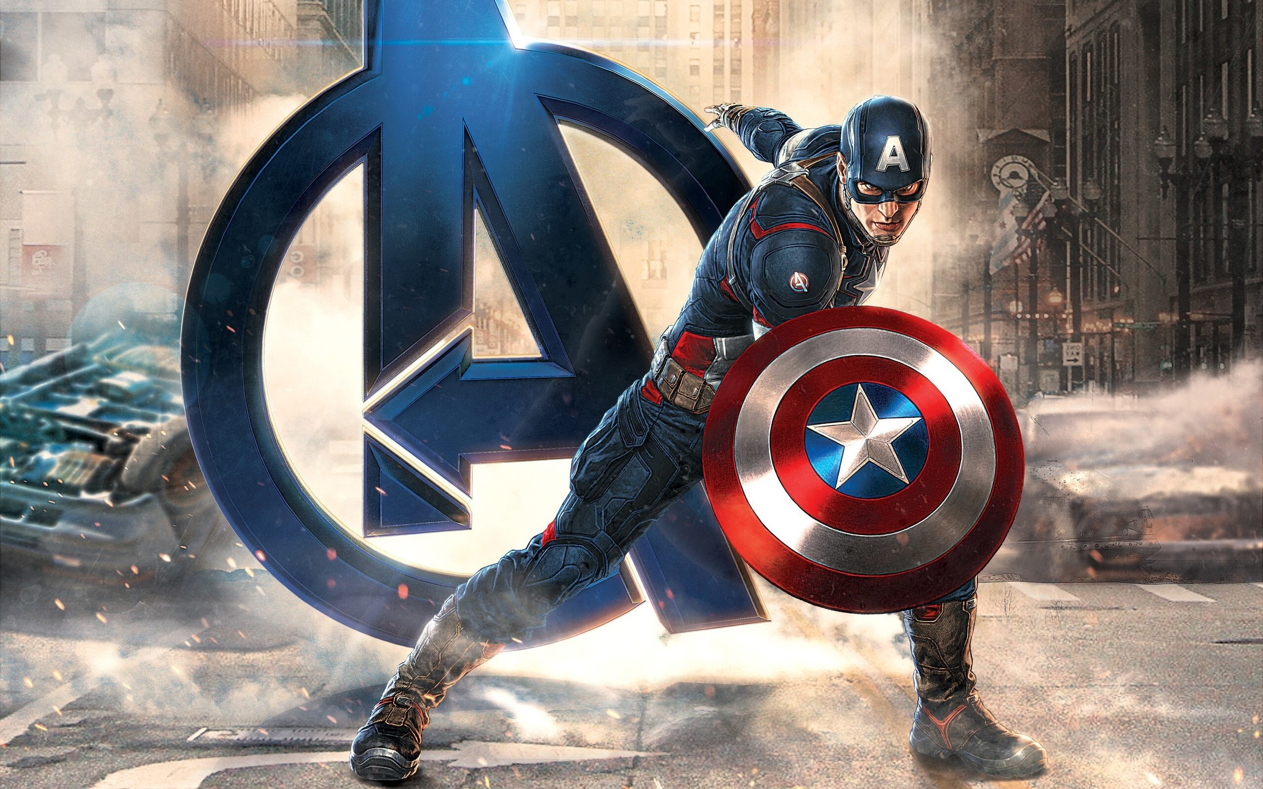 2560x1600 Captain America Avengers 2560x1600 Resolution Hd 4k