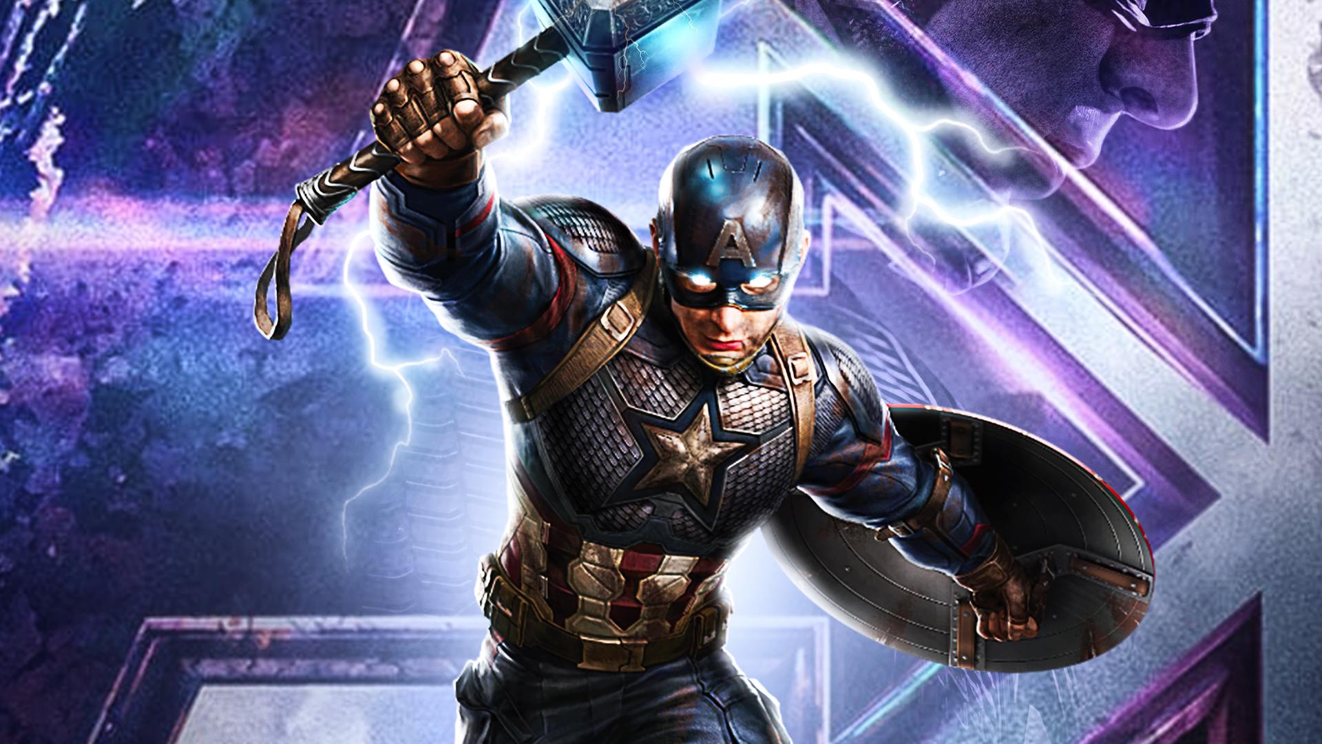 1920x1080 Captain America Avengers Endgame 2020 Laptop ...