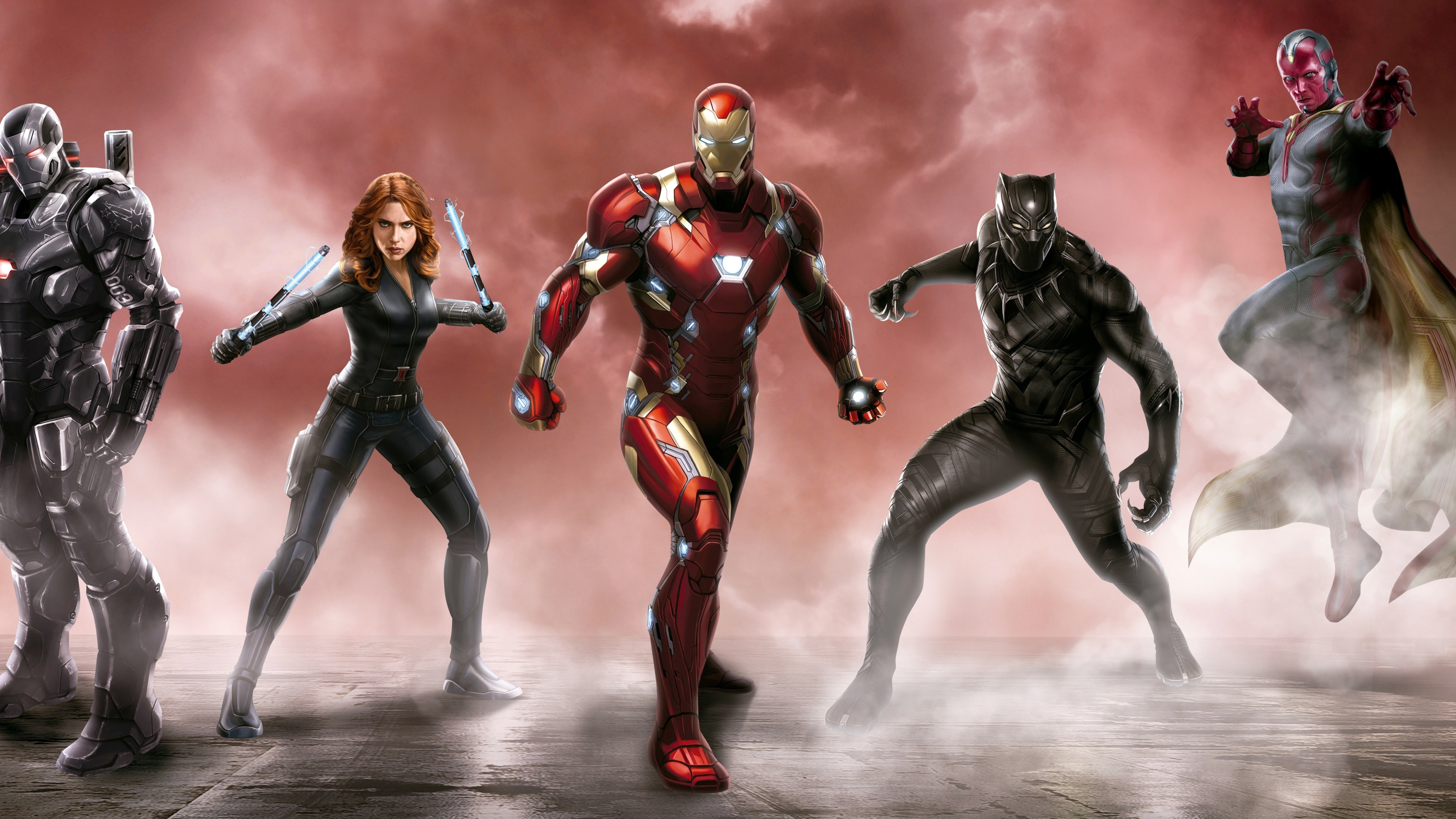 5120x2880 Captain America Civil War Best Art 5k Hd 4k Wallpapers