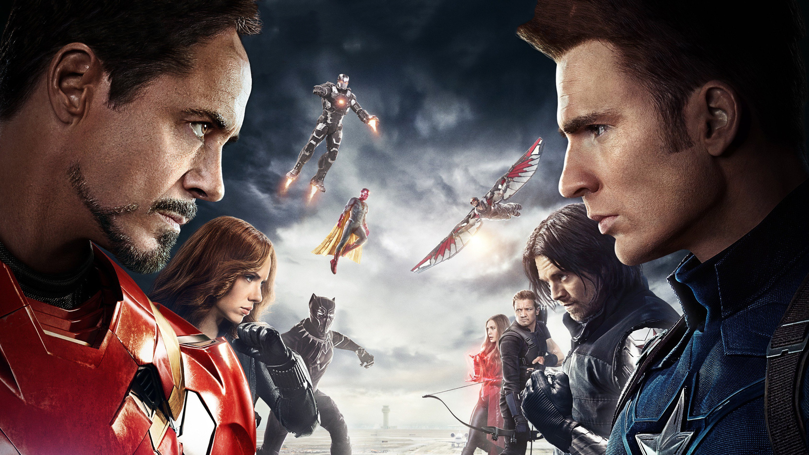 1600x900 Captain America Civil War Poster 1600x900 Resolution Hd