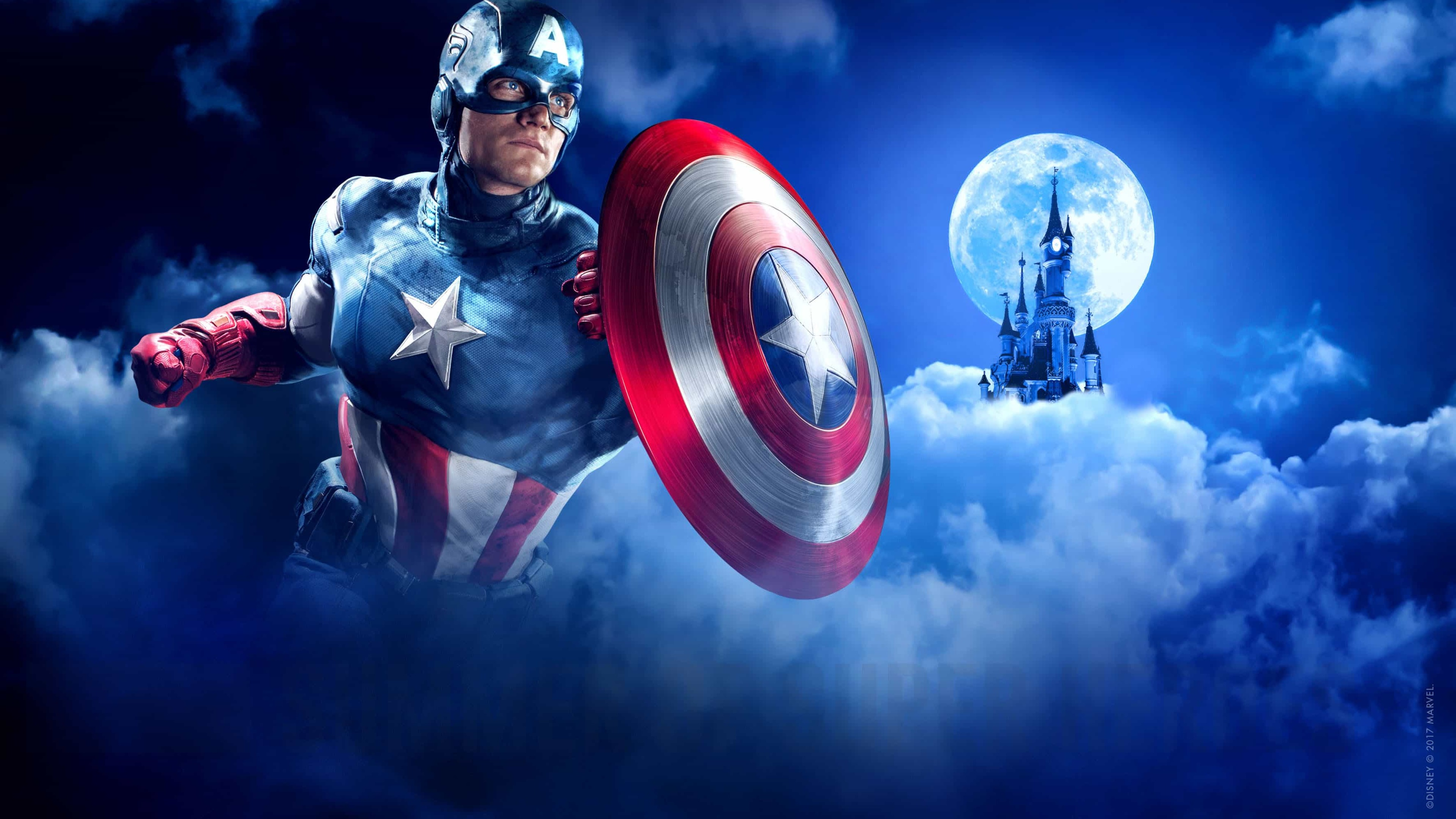 captain america disneyland paris marvel summer of superheroes cz