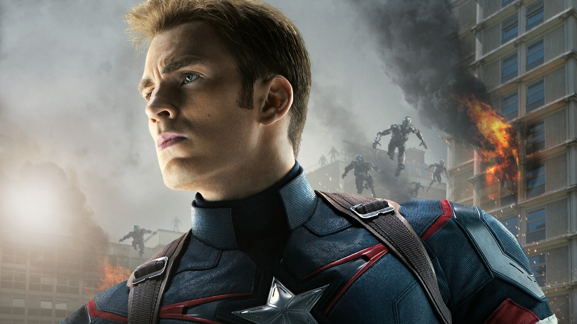 1920x1080 Captain America In Avengers Age Of Ultron Laptop ...