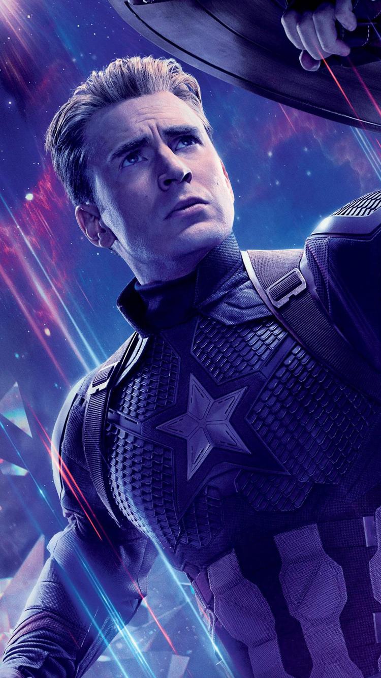 750x1334 Captain America In Avengers Endgame Iphone 6 Iphone 6s
