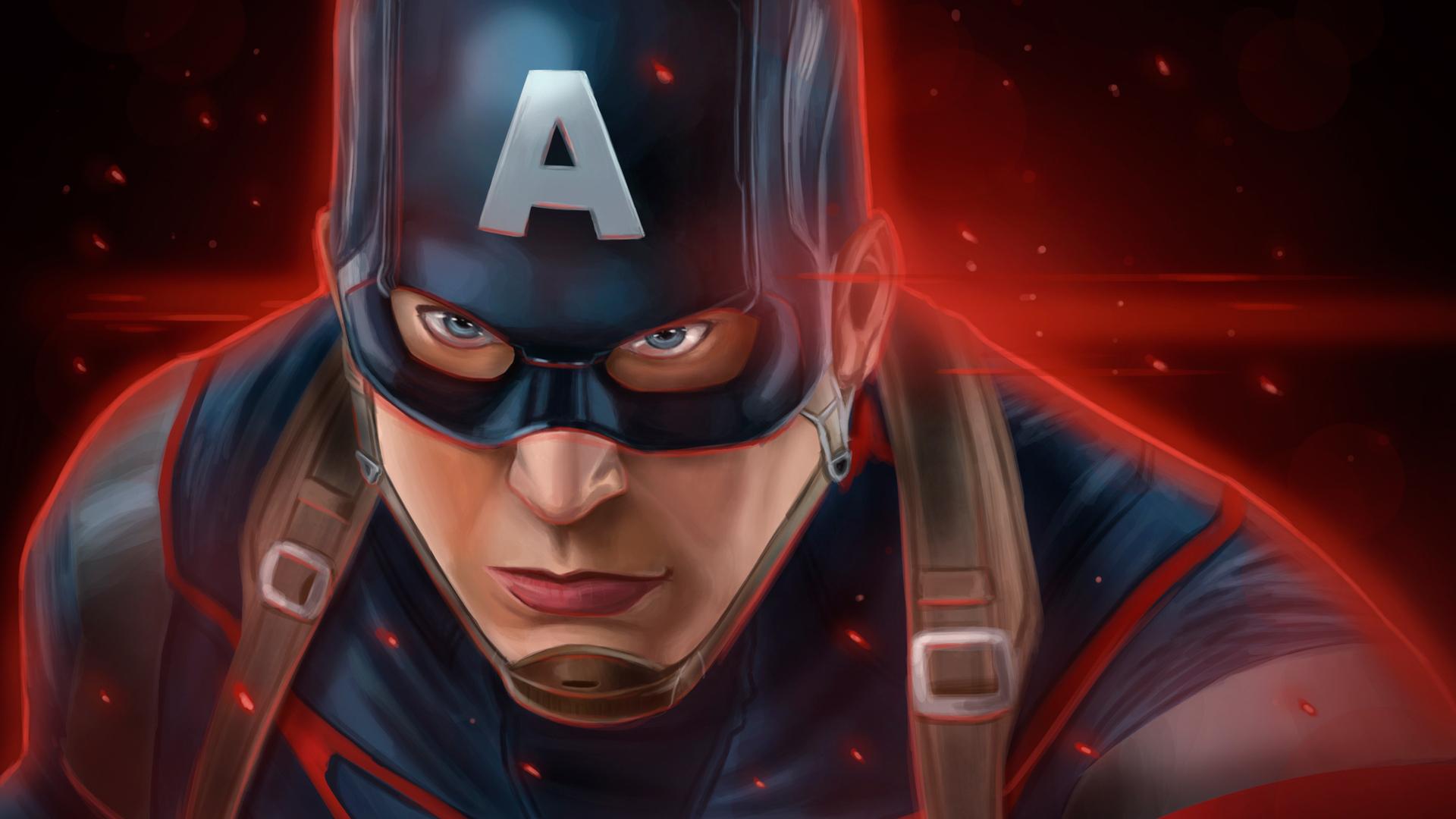 1920x1080 Captain America Latest Art Laptop Full HD 1080P ...