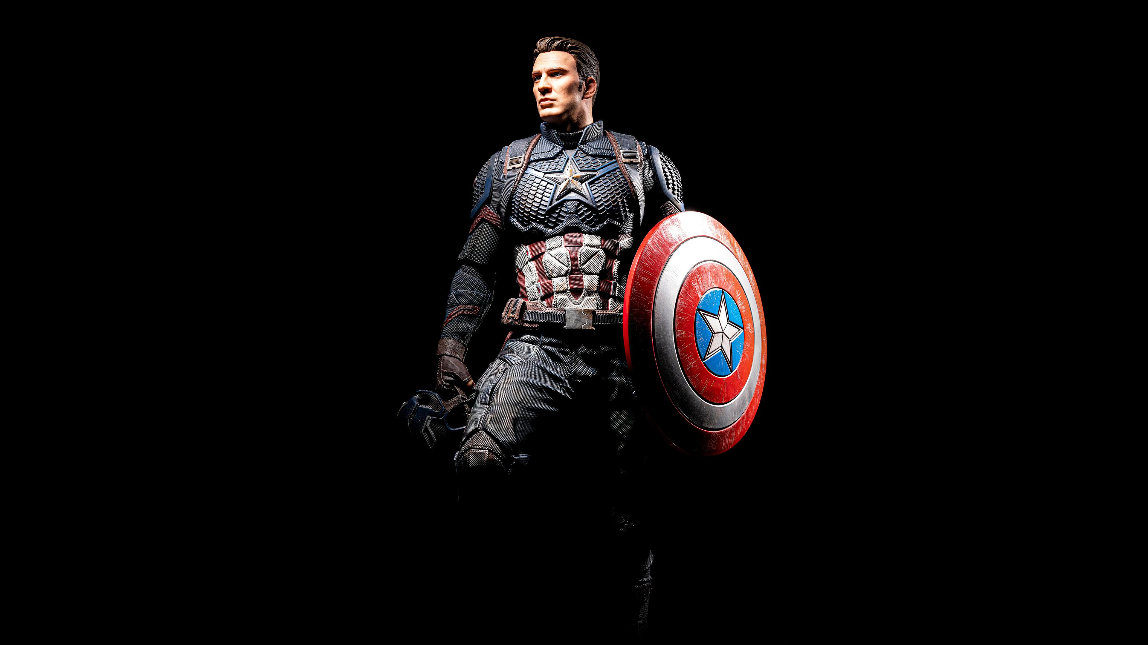 3840x2160 Captain America Ready 4k HD 4k Wallpapers ...