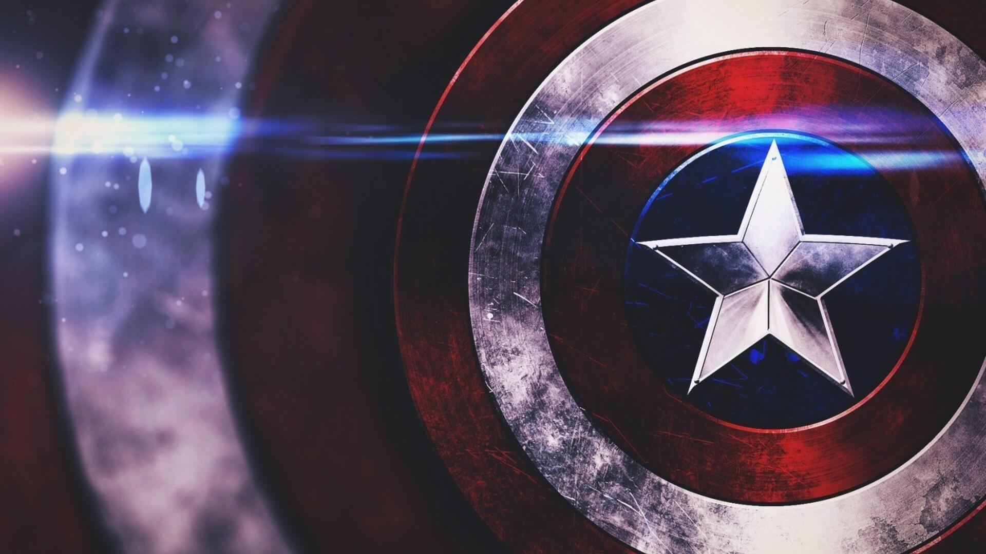 1920x1080 Captain America Shield Laptop Full Hd 1080p Hd 4k