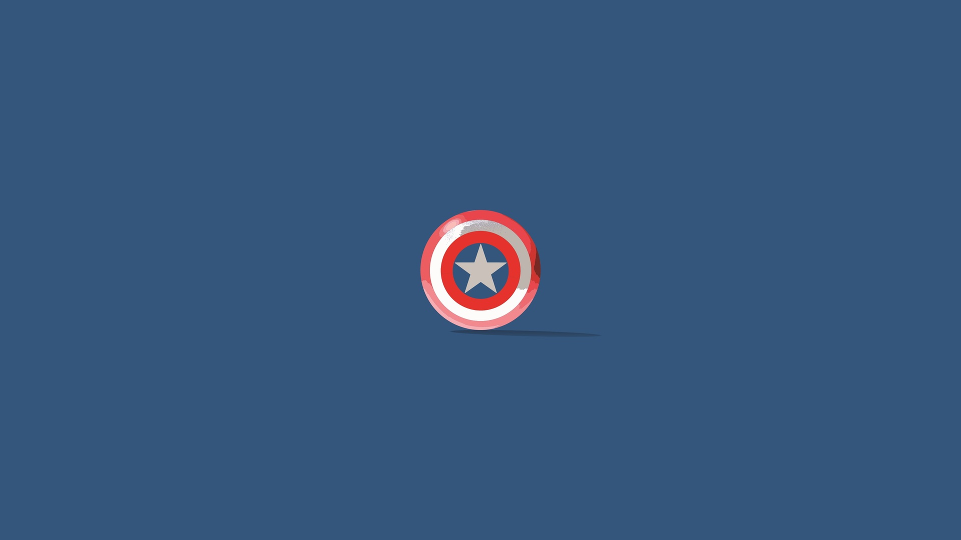 1920x1080 captain america shield minimalism laptop full hd