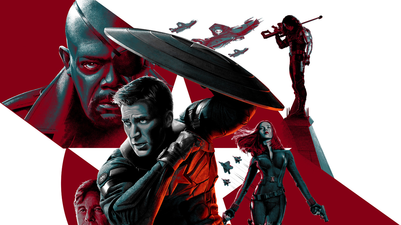 1366x768 Captain America The Winter Soldier 8k 1366x768 Resolution
