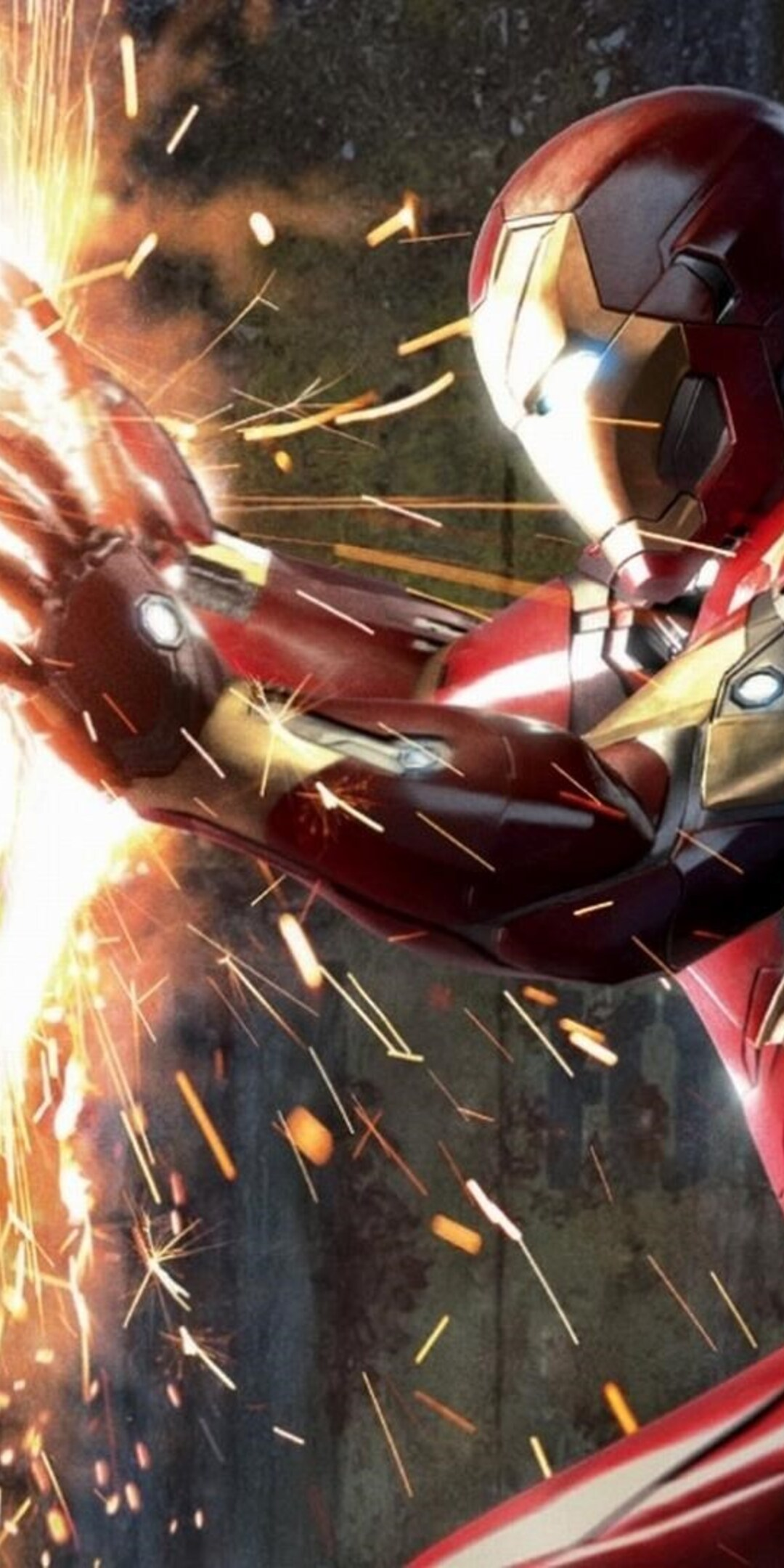 1080x2160 Captain America Vs Iron Man Civil War One Plus 5t Honor 7x