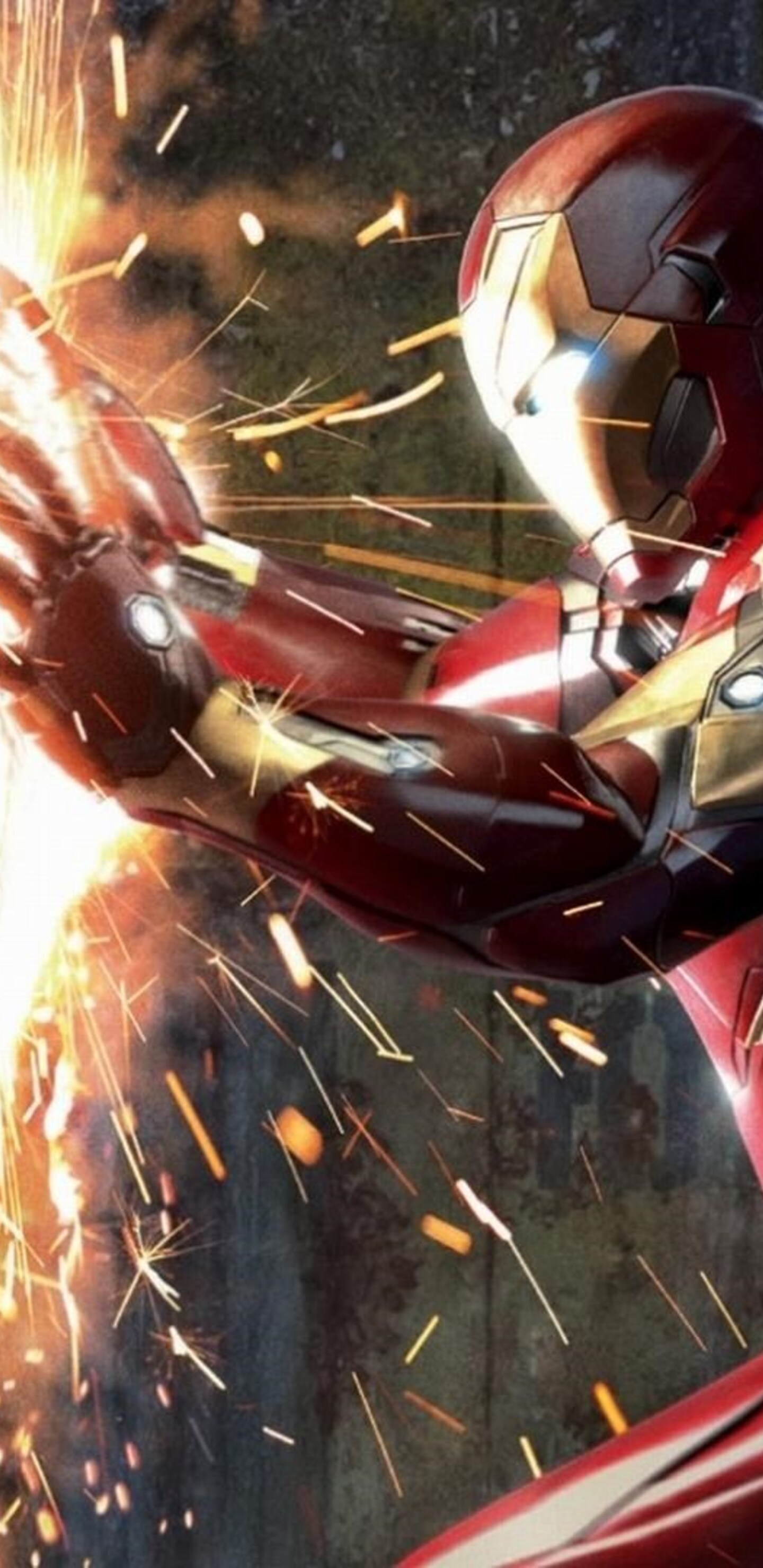 1440x2960 Captain America Vs Iron Man Civil War Samsung Galaxy Note