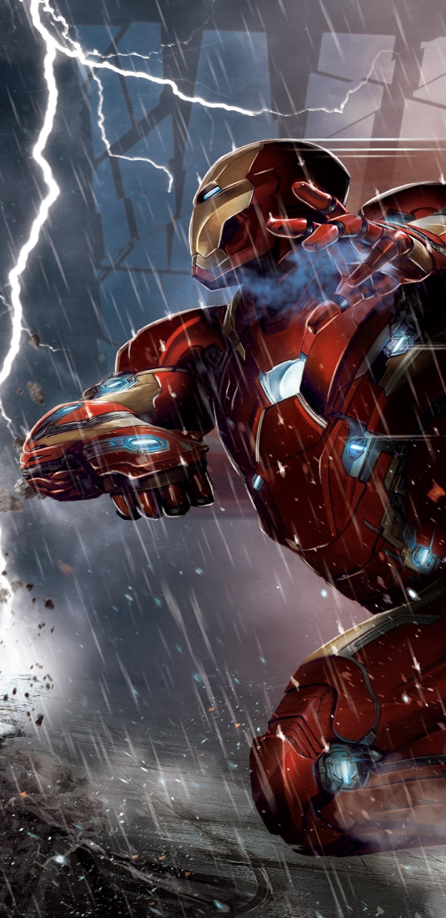 1440x2960 Captain America Vs Iron Man Comic 5k Samsung Galaxy Note 9