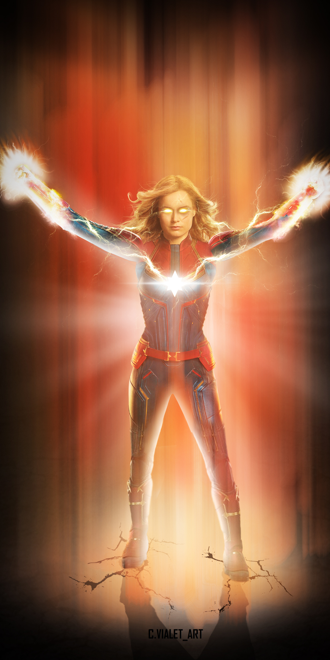 1080x2160 Captain Marvel 2019 New One Plus 5t Honor 7x Honor View 10
