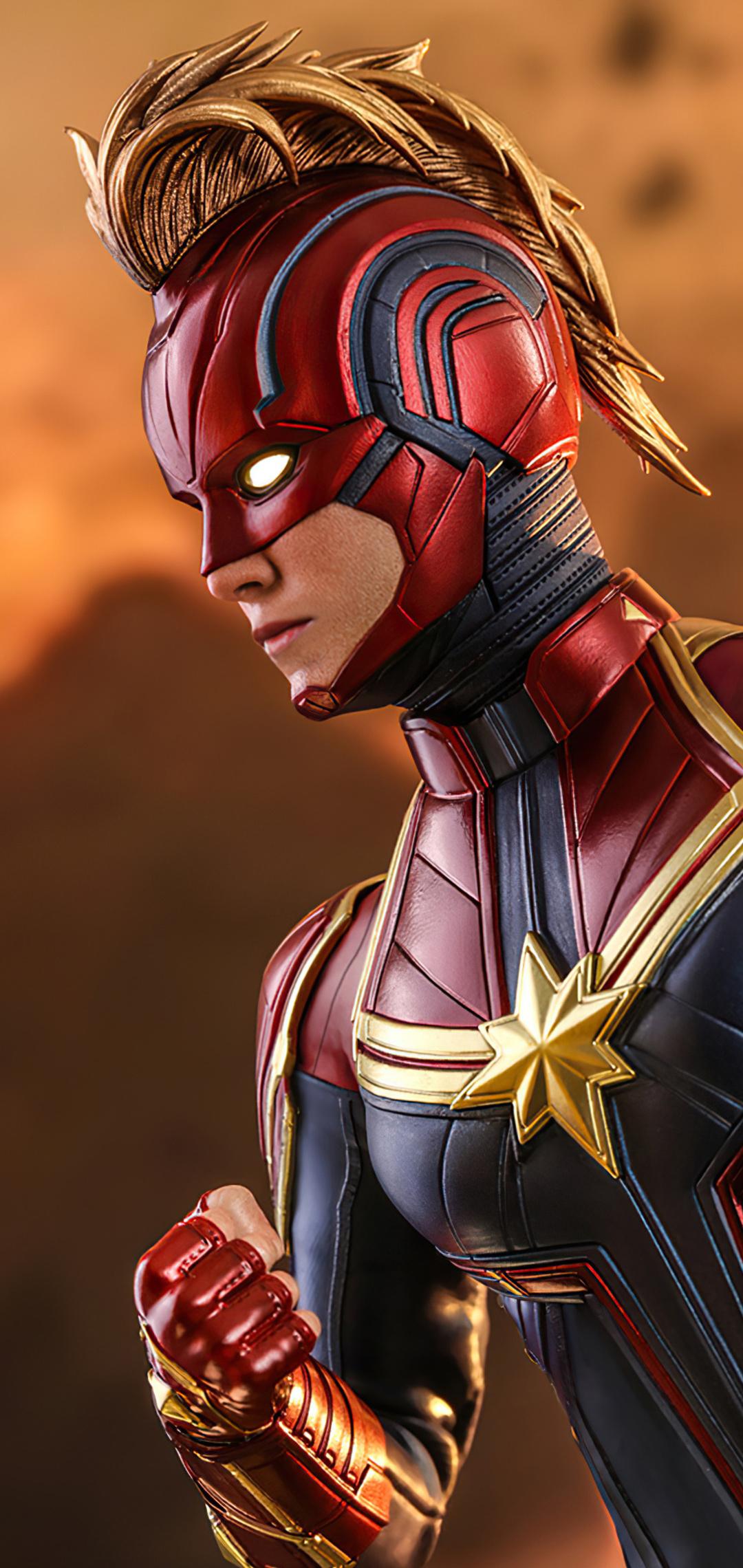 1080x2280 Captain Marvel 2020 Avengers Endgame One Plus 6 ...