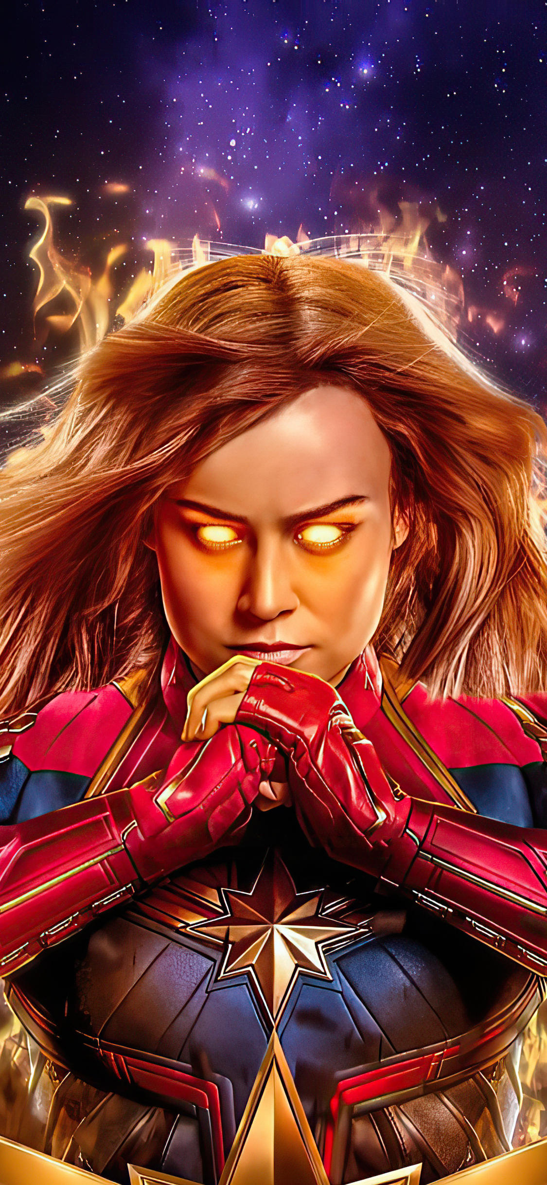 1125x2436 Captain Marvel 2020 Iphone Xs Iphone 10 Iphone X Hd 4k Wallpapers Images Backgrounds Photos And Pictures