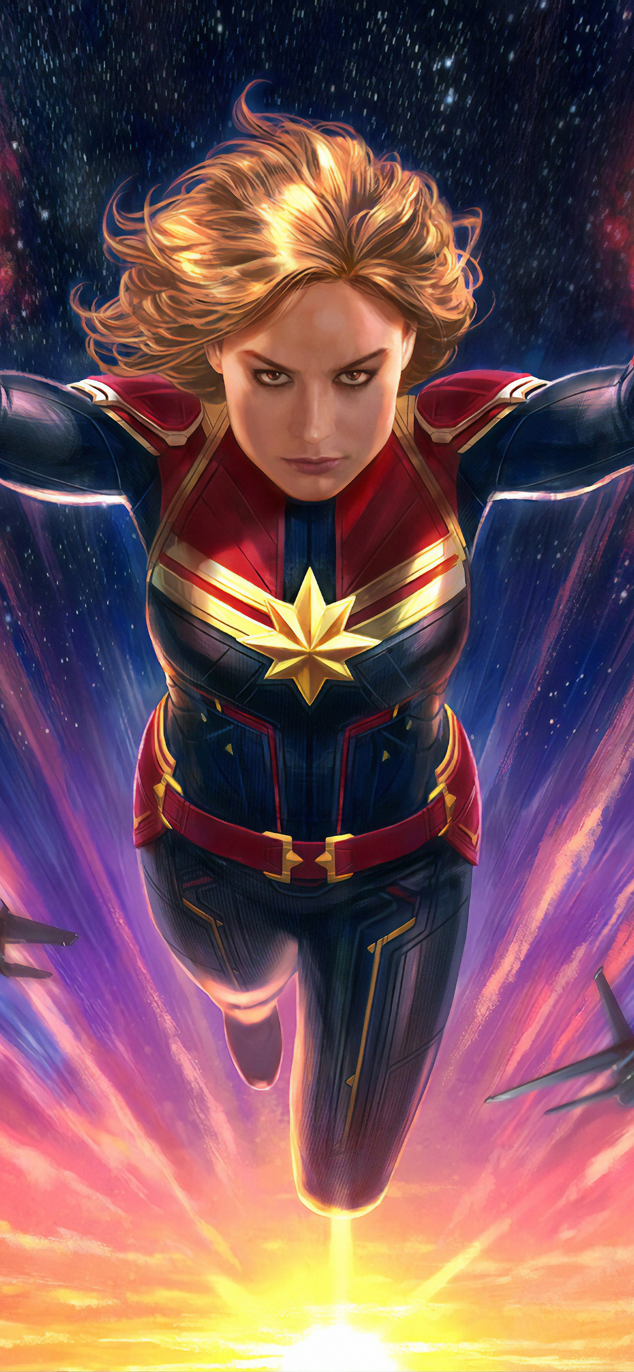 1242x2688 Captain Marvel 4k Arts Iphone Xs Max Hd 4k Wallpapers Images Backgrounds Photos And Pictures