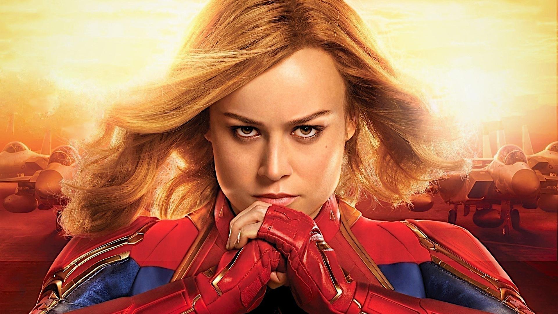 1920x1080 Captain Marvel Brie Larson Laptop Full HD 1080P ...
