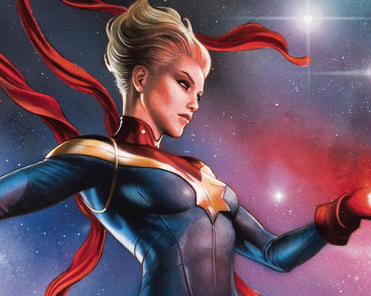 20x20 Captain Marvel Comic Book Art 20x20 Resolution HD 20k ...