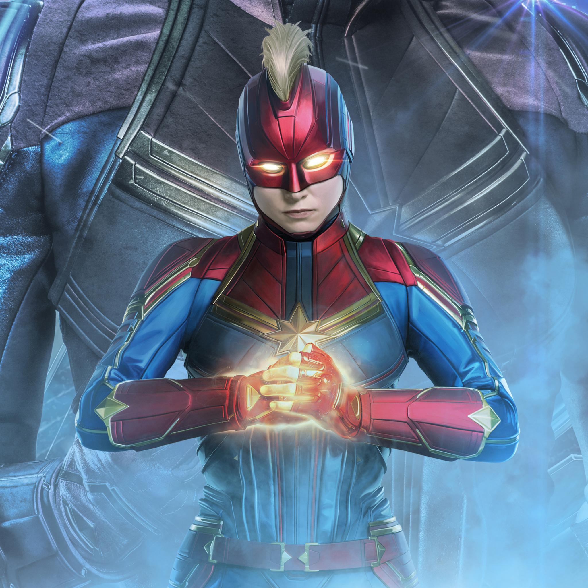 Download Captain Marvel Avengers Endgame Wallpaper ...