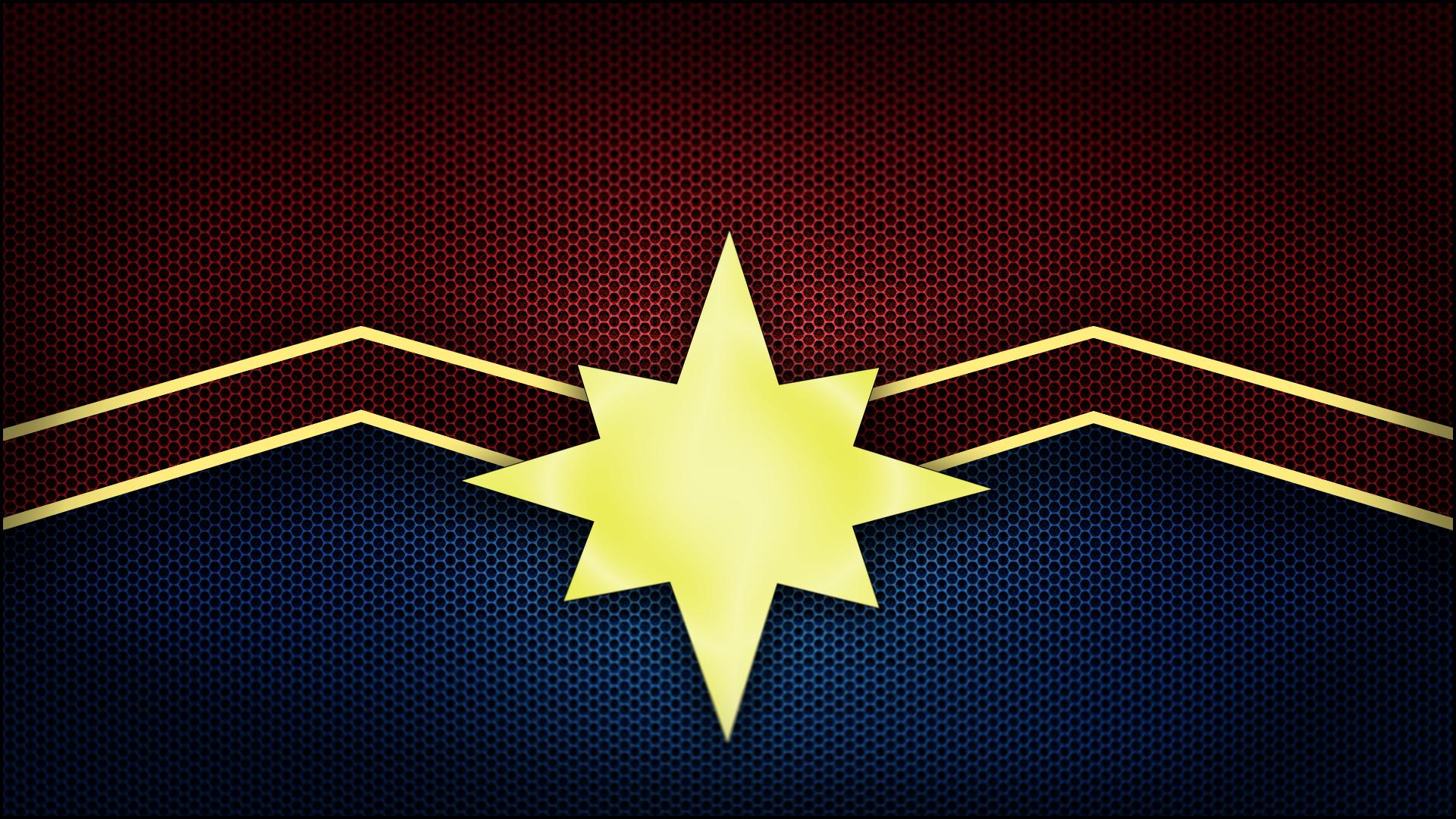 1920x1080 Captain Marvel Logo Laptop Full HD 1080P HD 4k ...