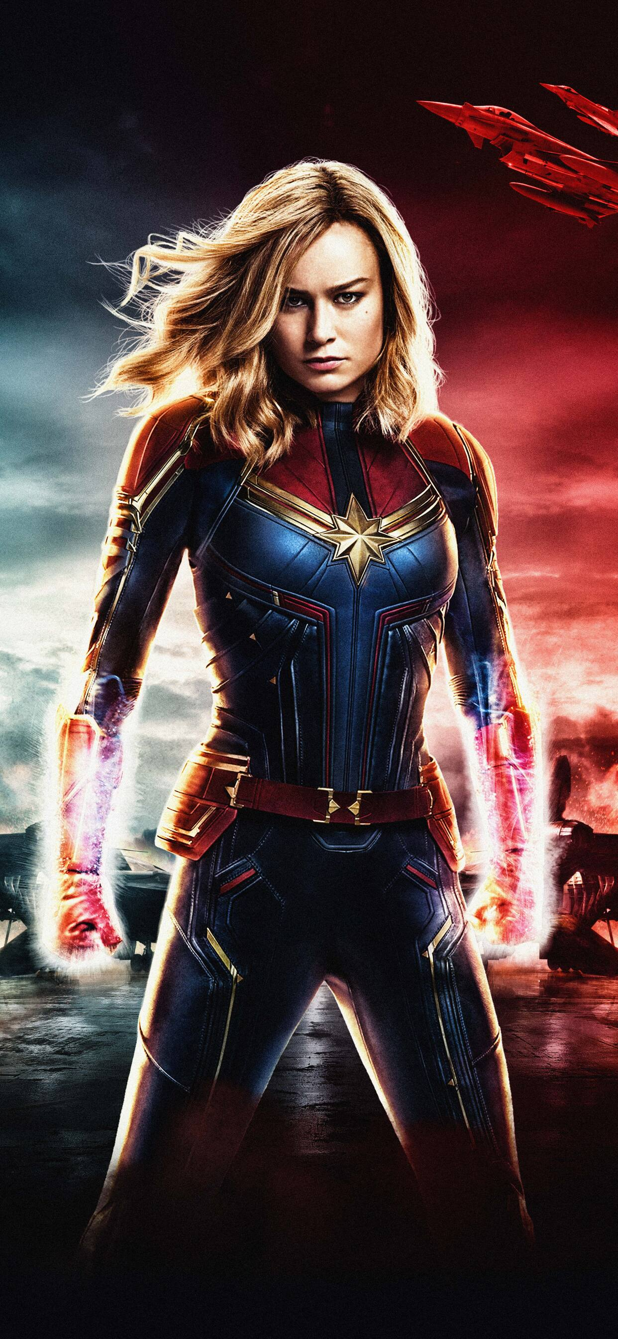 1242x2688 Captain Marvel Movie 2018 5k Iphone Xs Max Hd 4k