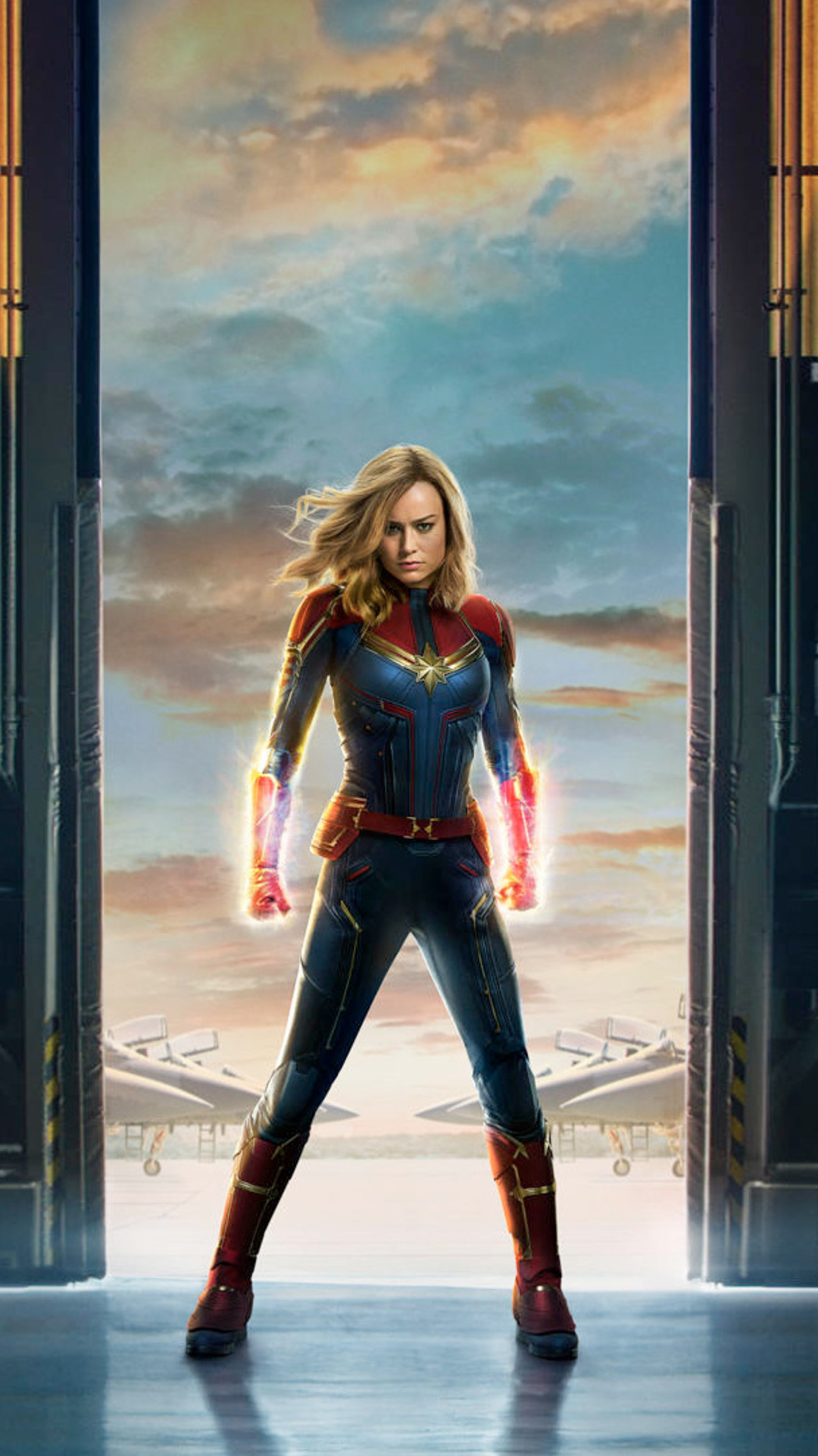 1080x1920 Captain Marvel Movie 2019 Offical Poster Iphone ...