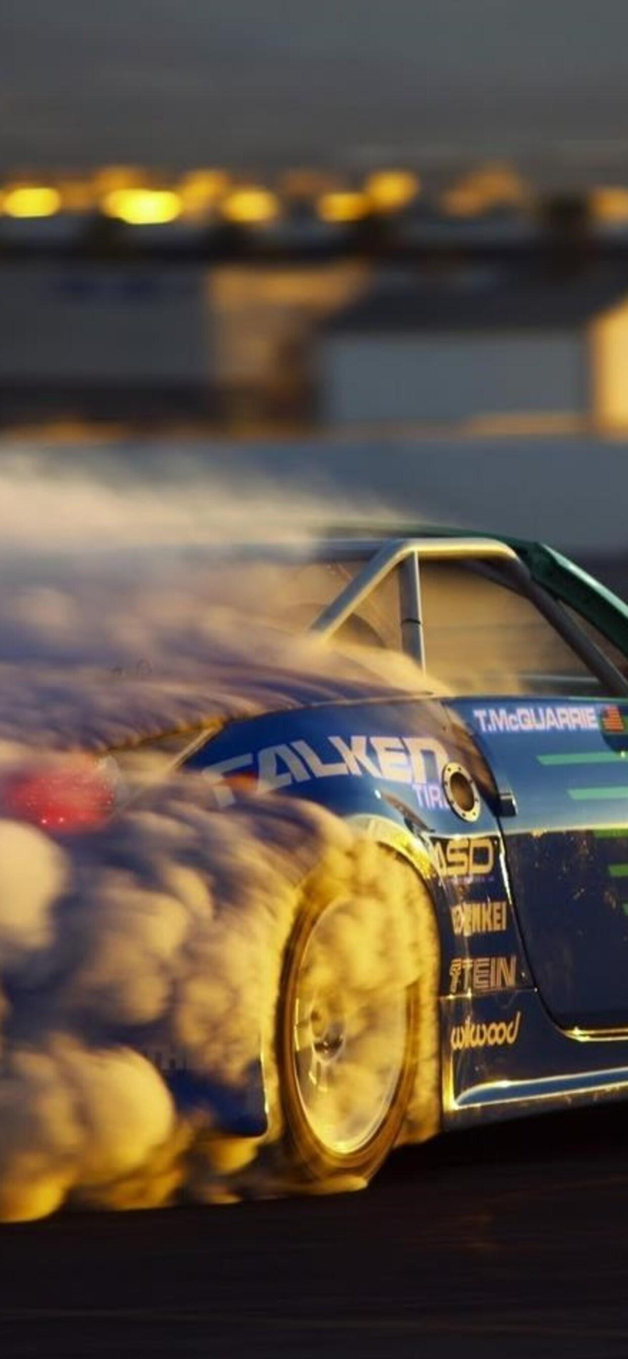 Car Drift Tires Wallpaper Jpg