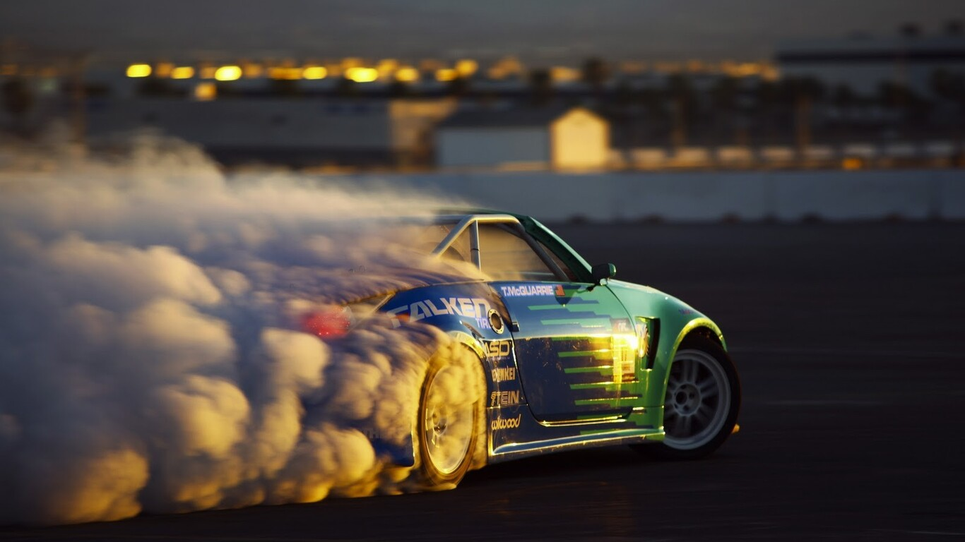 Car Drift Tires Wallpaper