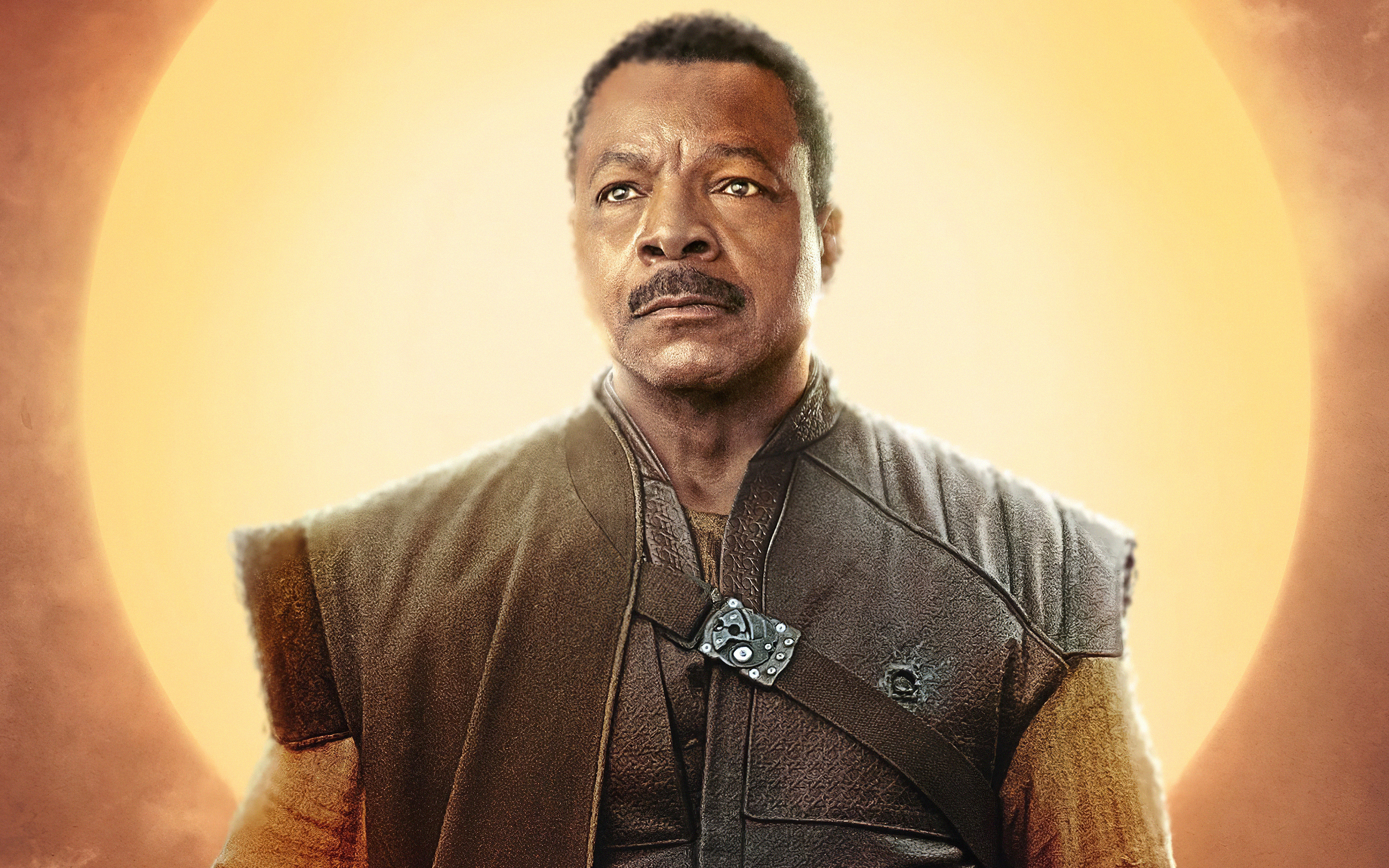 2560x1600 Carl Weathers The Mandalorian ...