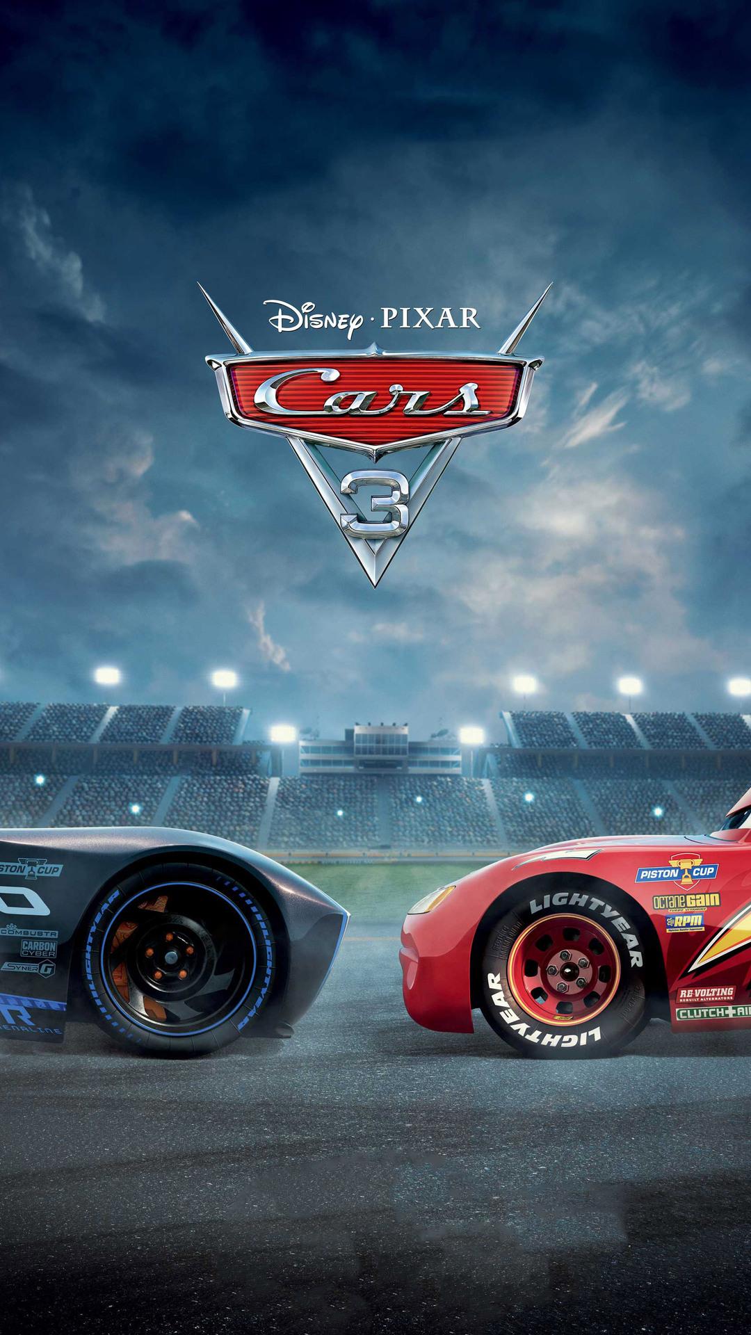1080x1920 Cars 3 Pixar Animated Movie Iphone 7 6s 6 Plus