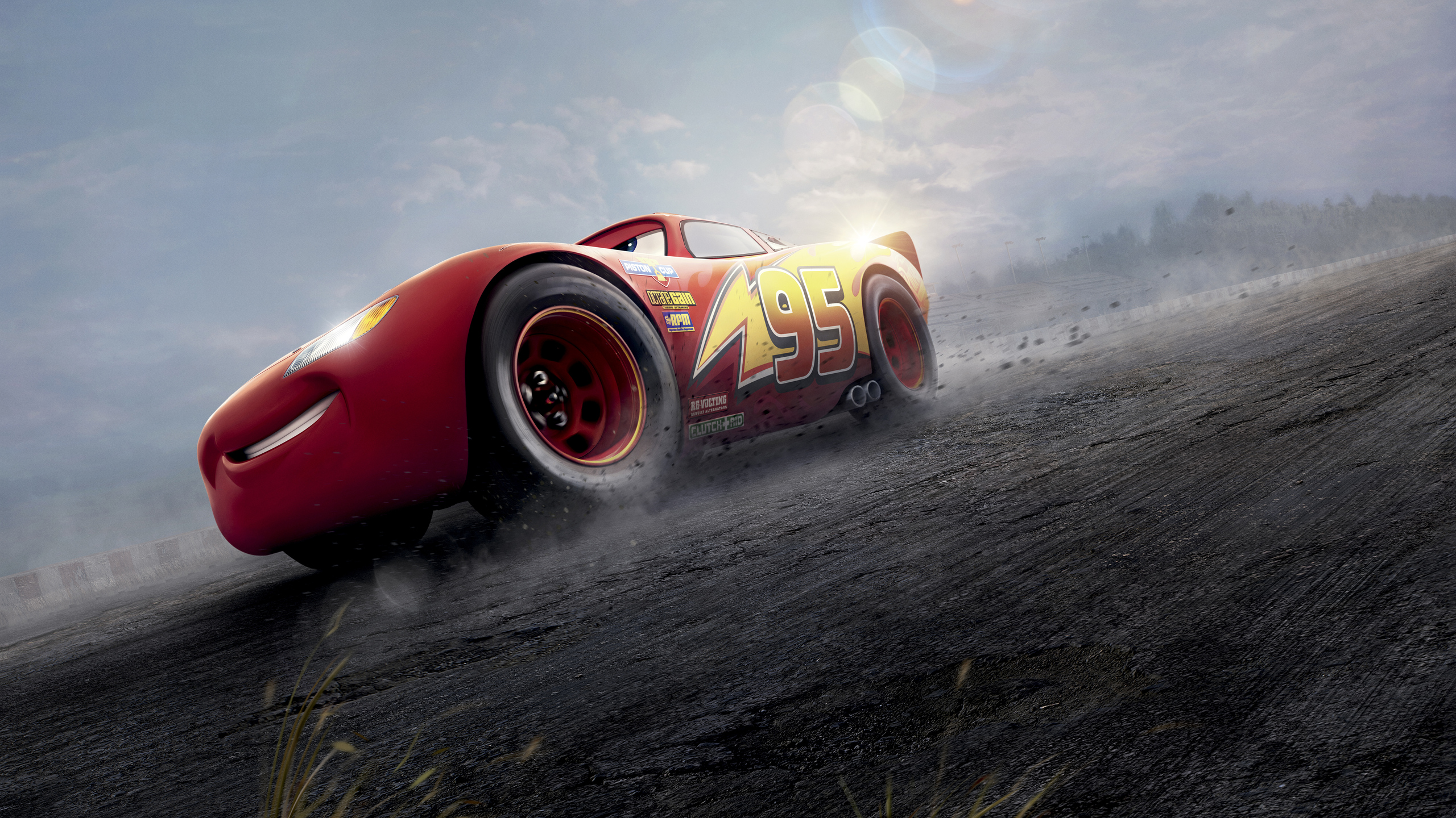 2560x1440 Cars 3 Red Lightning McQueen 8k 1440P Resolution ...