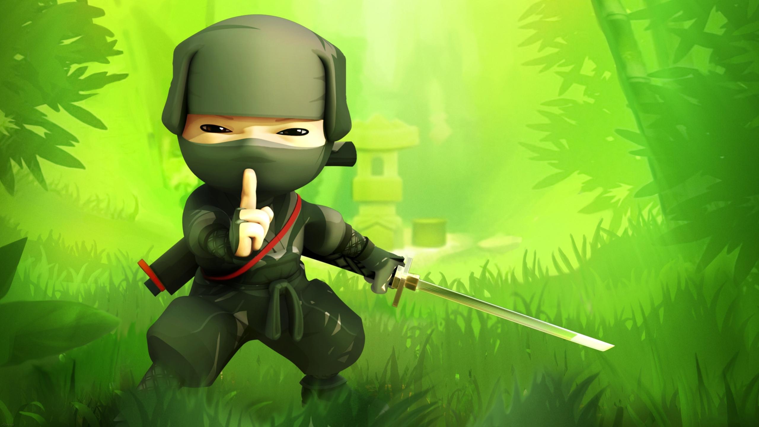 2560x1440 Cartoon Ninja 1440P Resolution HD 4k Wallpapers