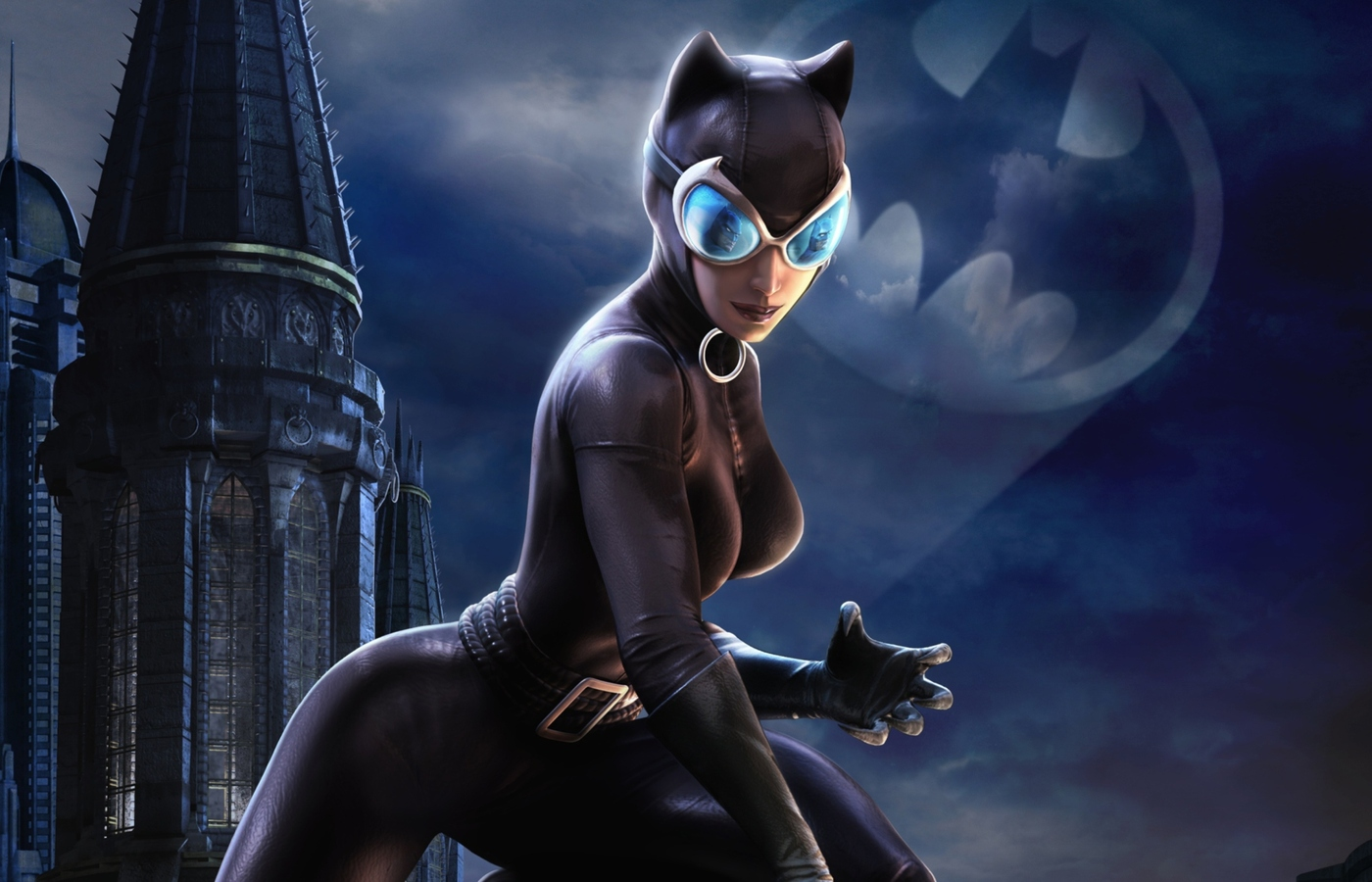 Catwoman Batman Arkham City Image