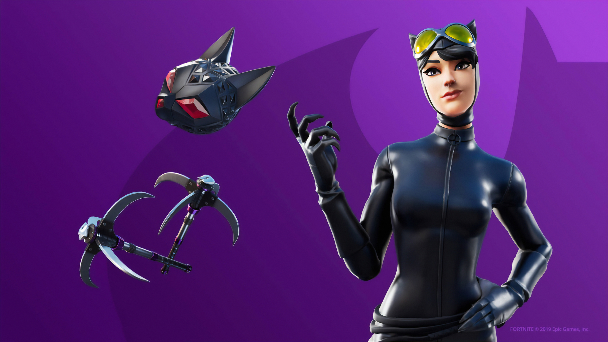 2048x1152 Catwoman Fortnite 2048x1152 Resolution Hd 4k