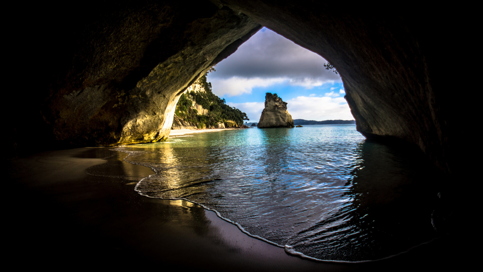 1920x1080 Cave On The Ocean Laptop Full HD 1080P HD 4k ...