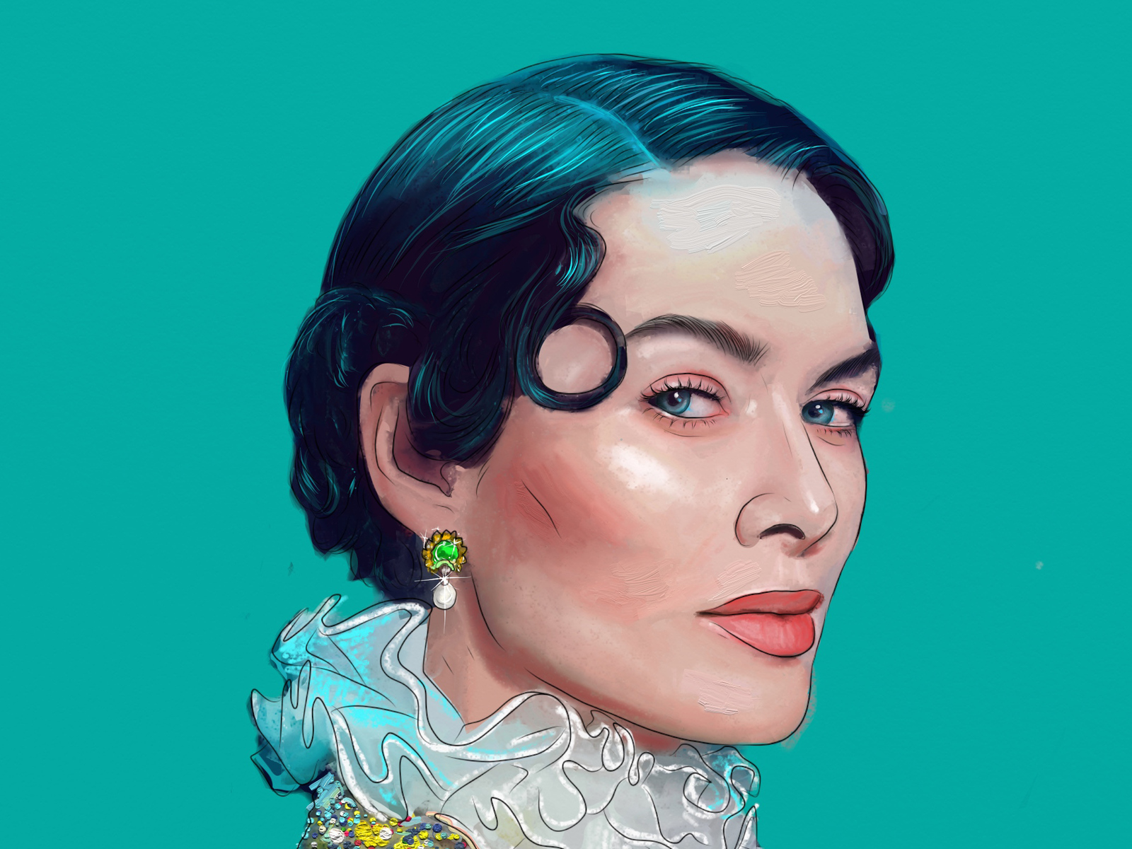 1600x1200 Cersei Lannister Digital Art 1600x1200 Resolution