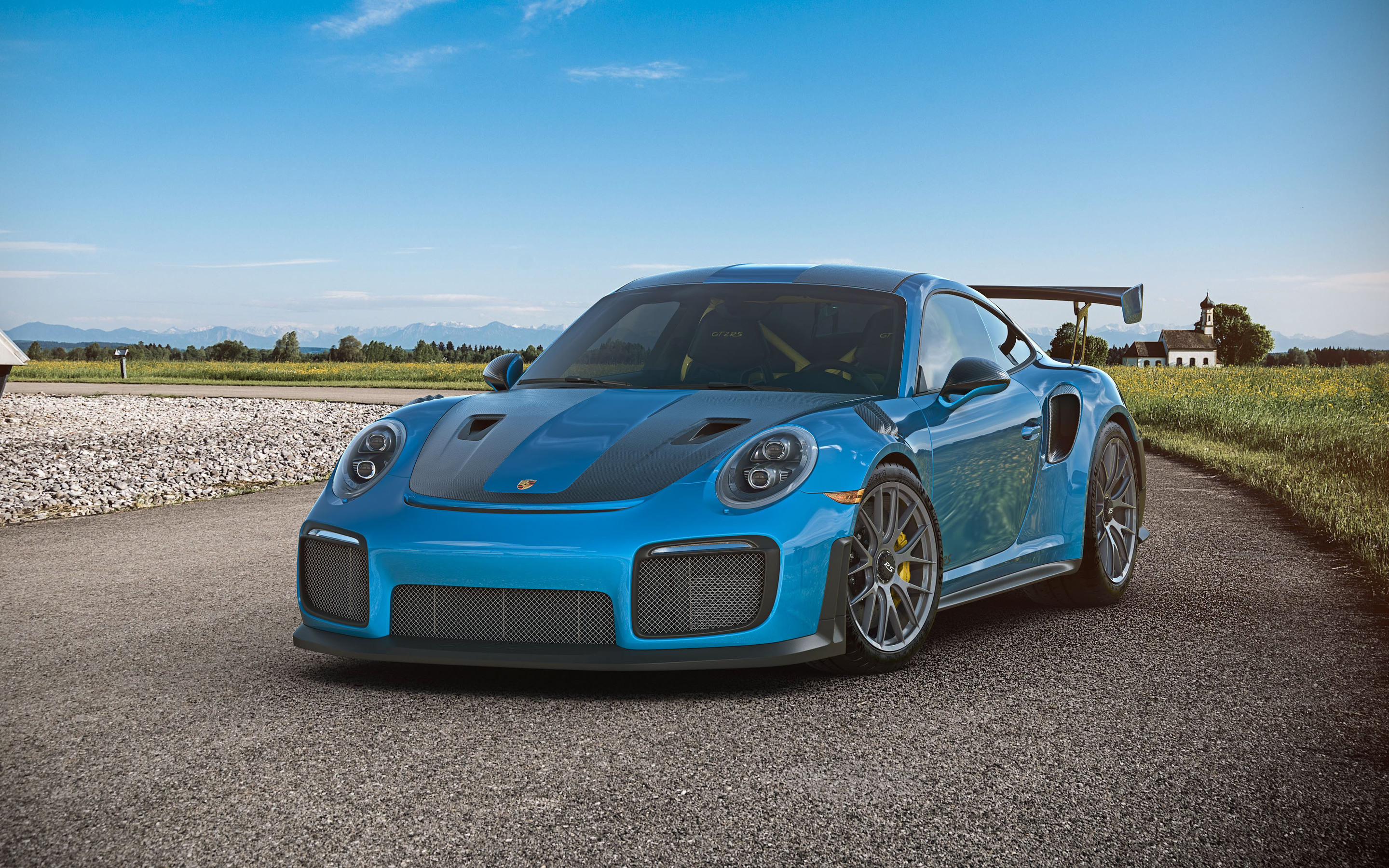 2880x1800 Cgi Porsche Gt2 Rs Macbook Pro Retina Hd 4k