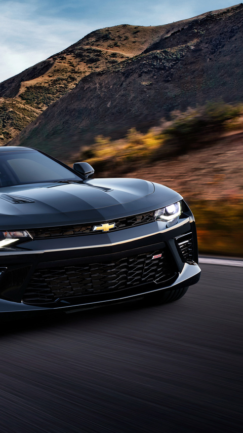 480x854 Chevrolet Camaro Ss 2018 4k Android One Hd 4k Wallpapers Images Backgrounds Photos And Pictures