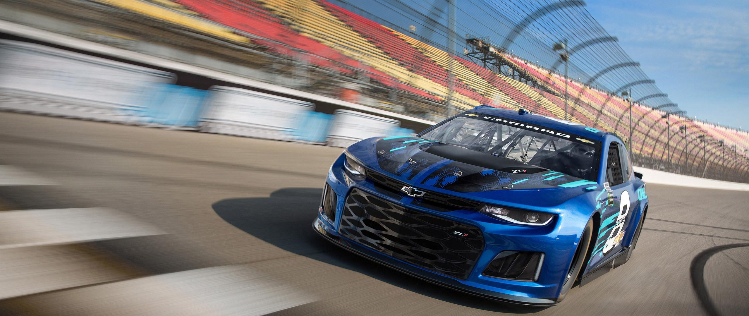 Wallpaper Chevrolet Camaro Zl1 Nascar Race Car 4k: 2560x1080 Chevrolet Camaro ZL1 NASCAR 2018 2560x1080
